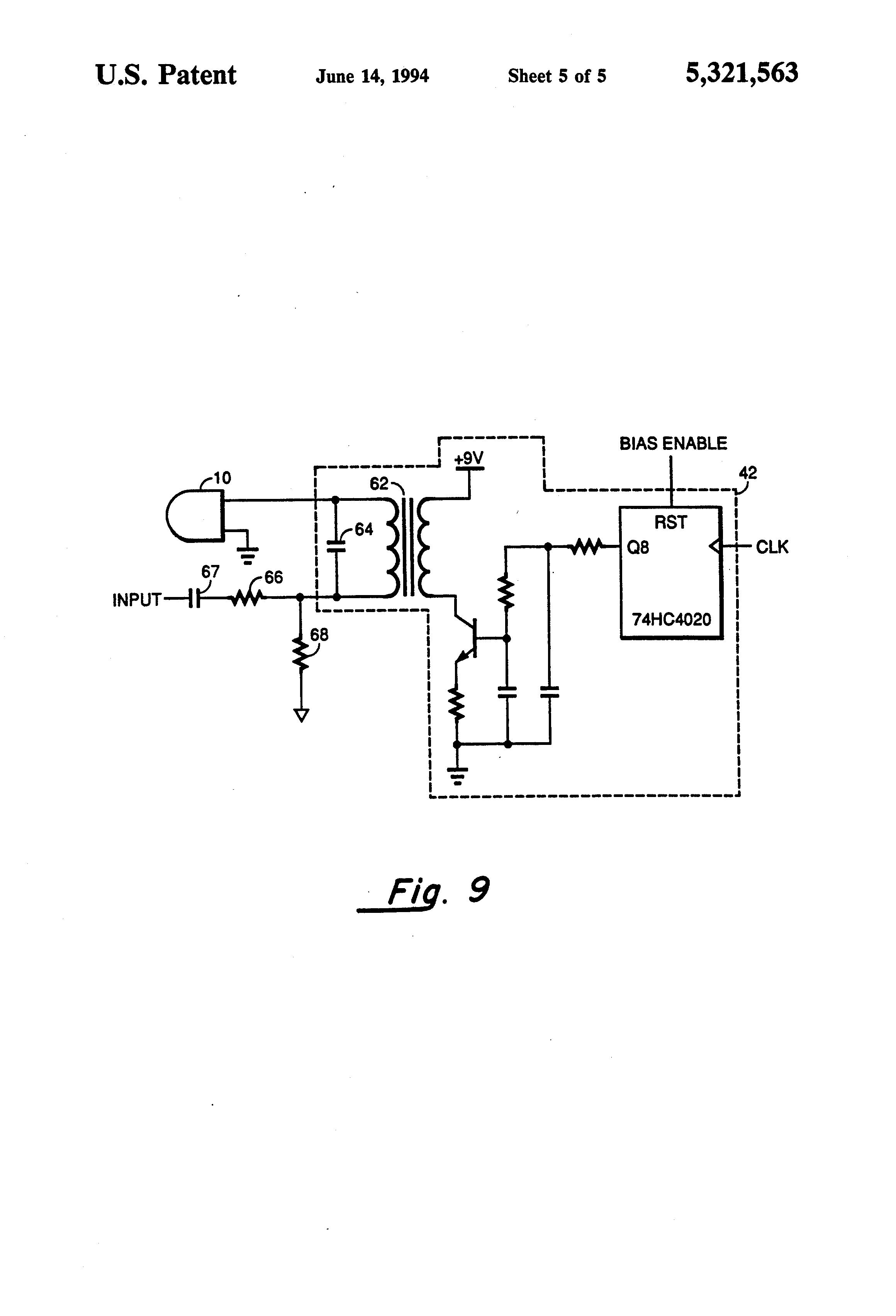 patent us5321563