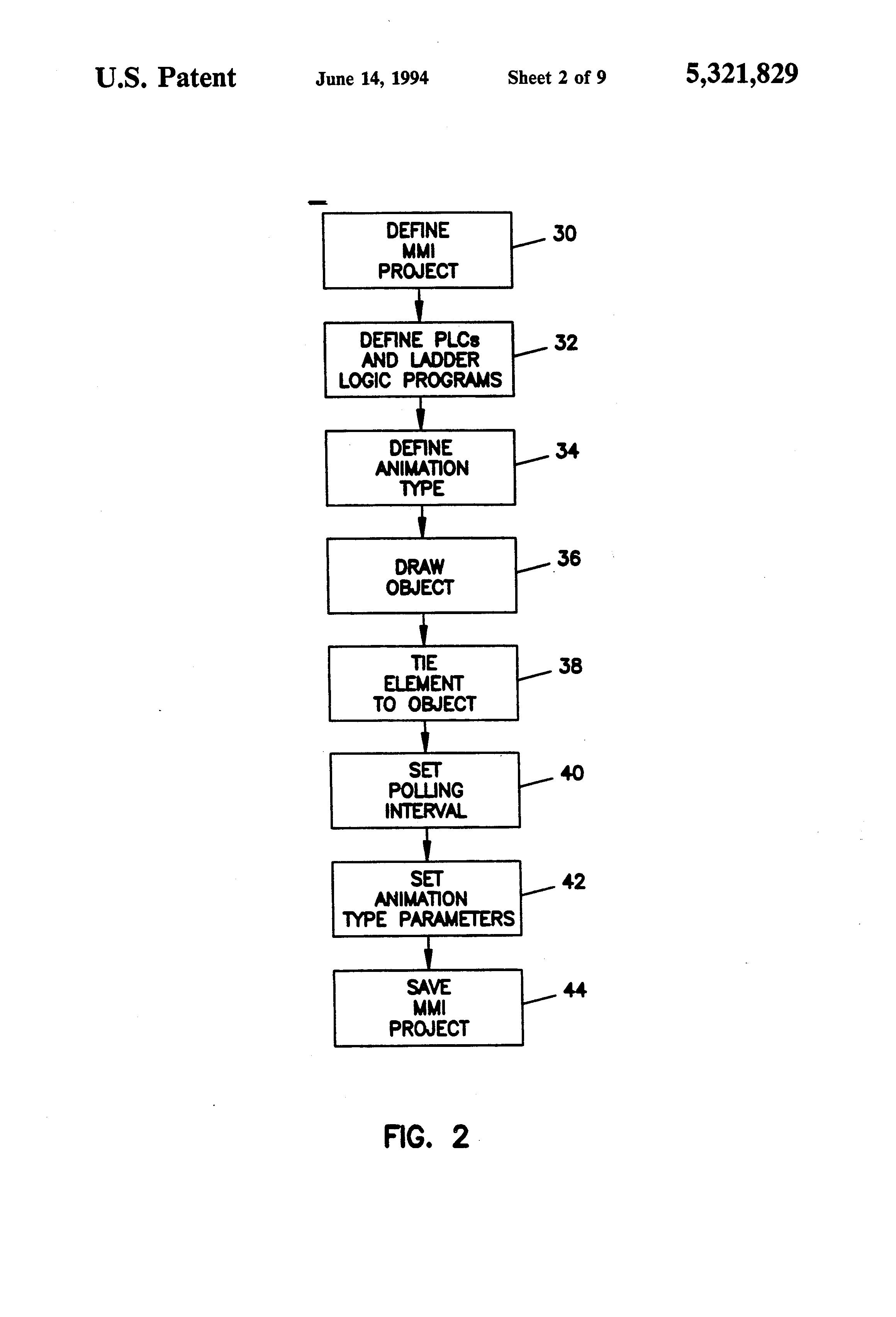 patent us5321829