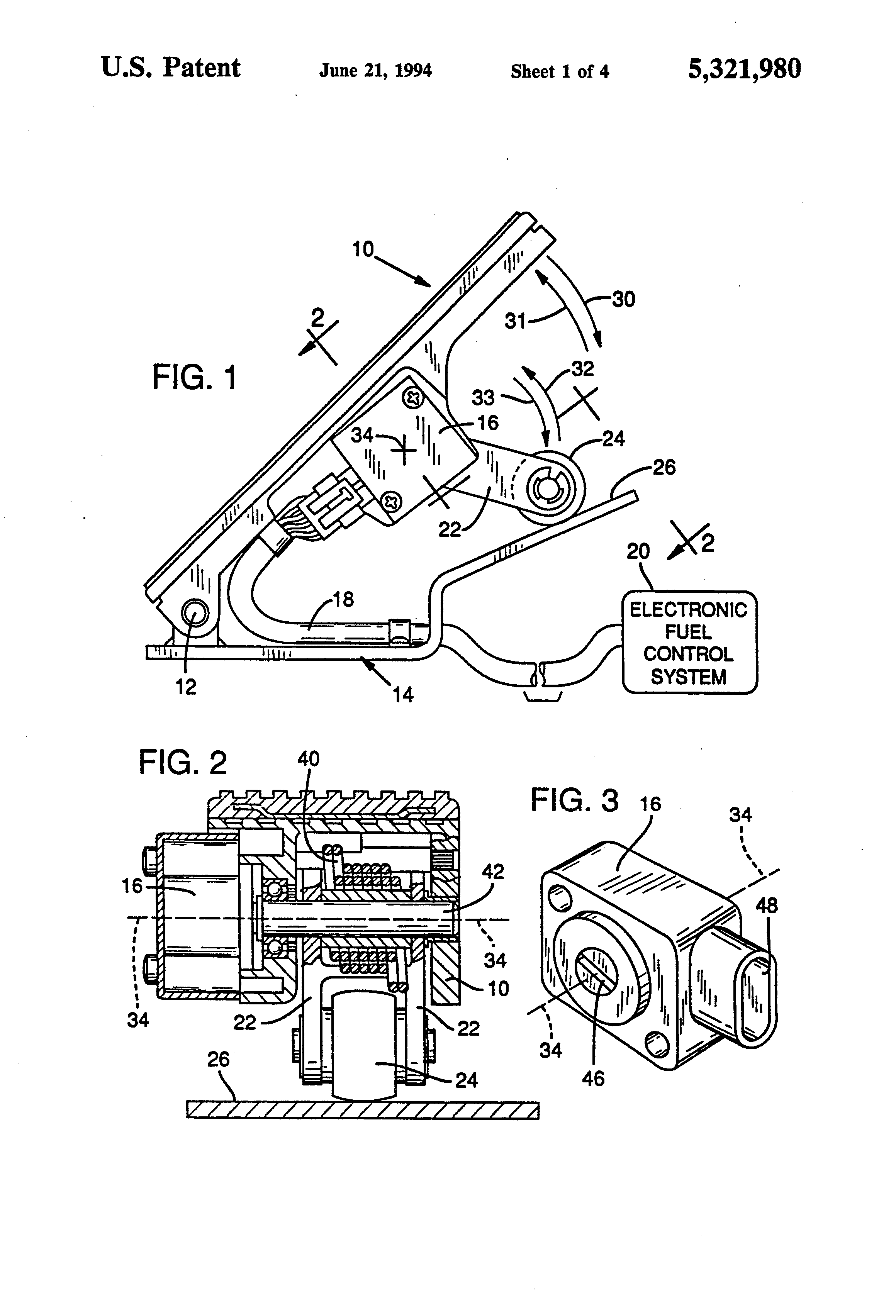 US5321980 1 patent us5321980 integrated throttle position sensor with  at eliteediting.co