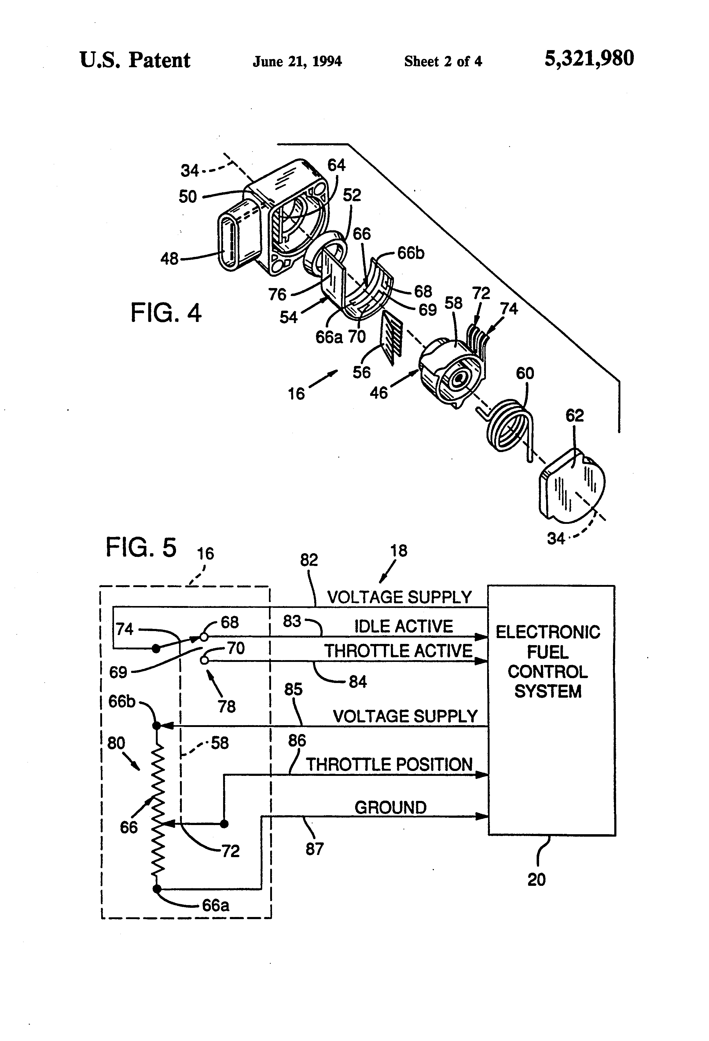 US5321980 2 patent us5321980 integrated throttle position sensor with  at mifinder.co