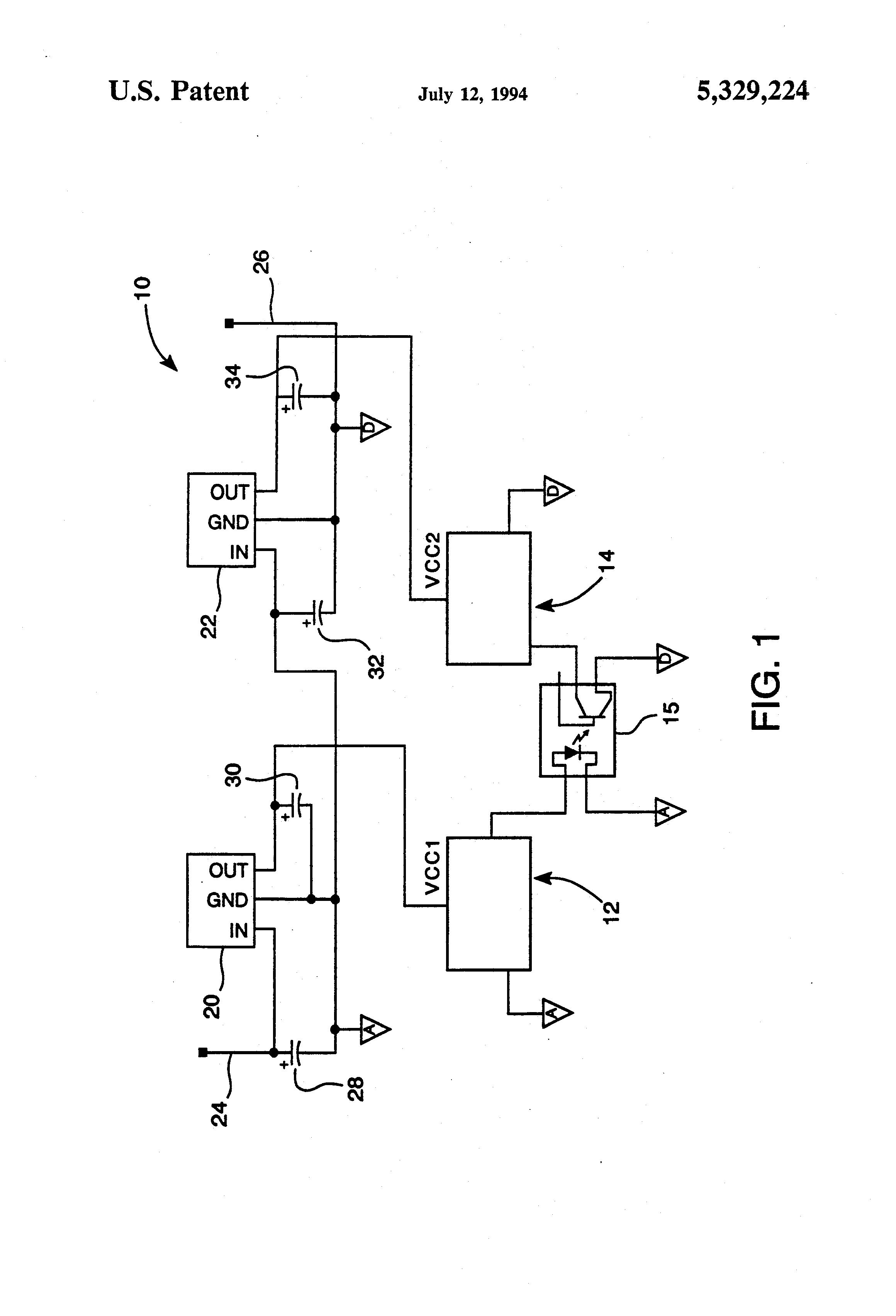 Pictures Of Car Voltage Regulator Circuit Circuits Patent Us5329224 Automotive