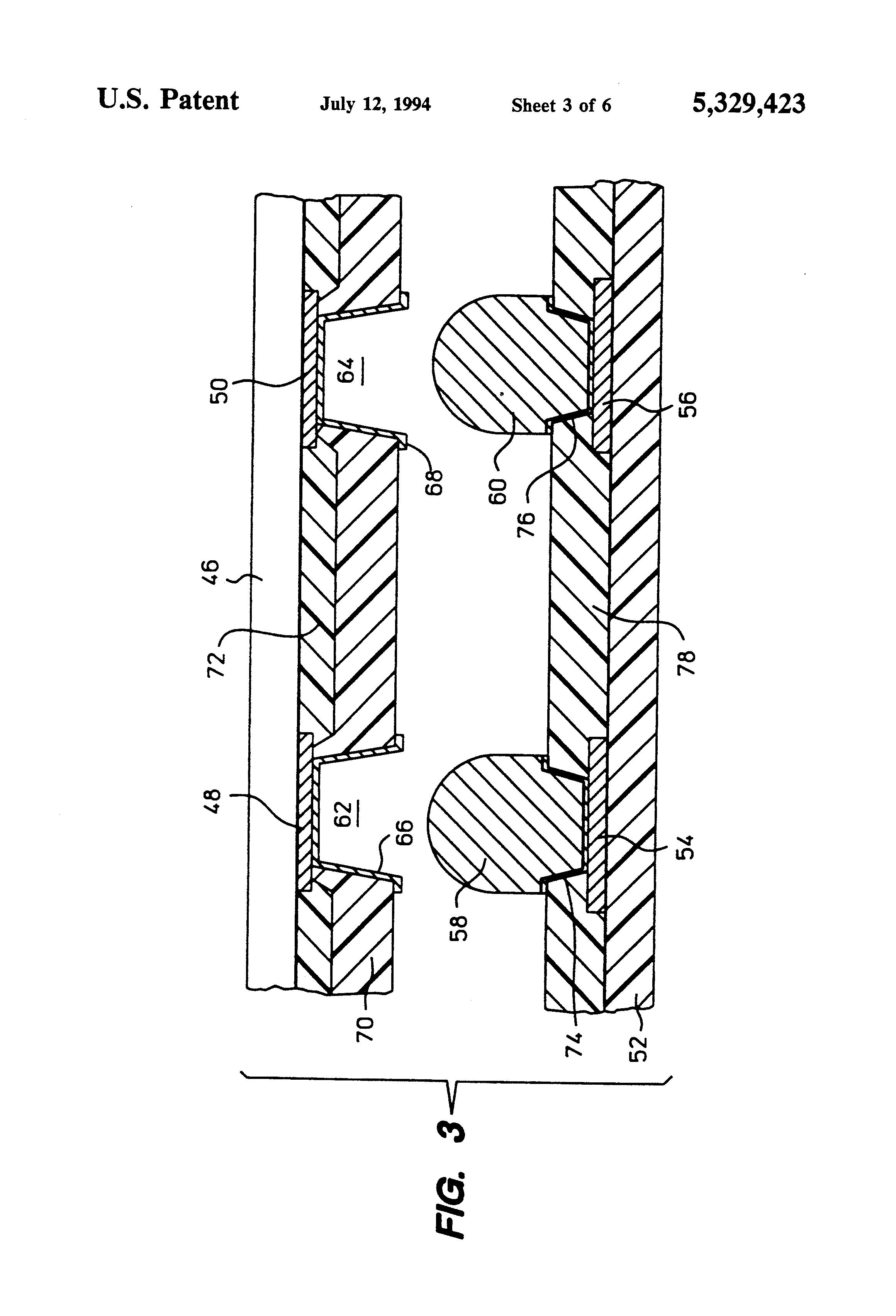 patent us5329423