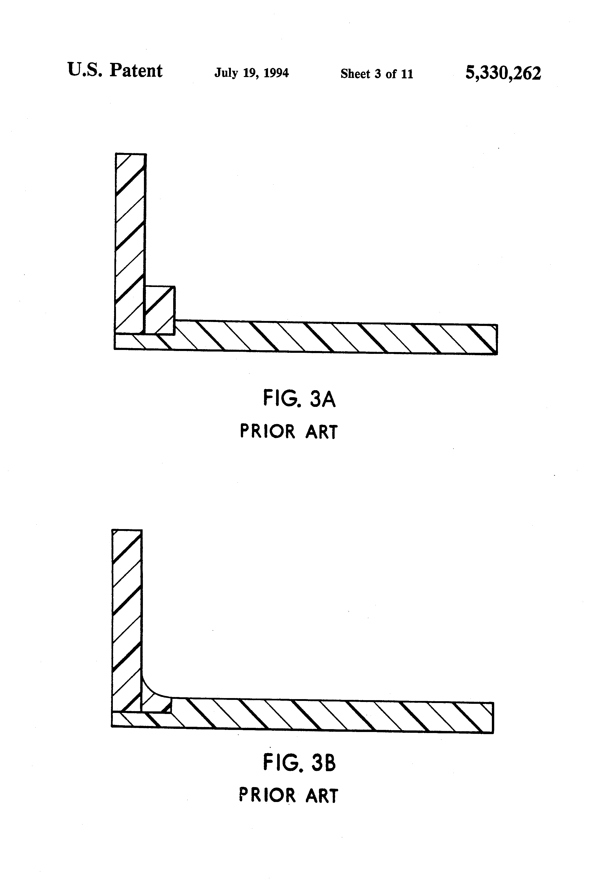 Patent US5330262 - Coved backsplash for a countertop - Google Patents