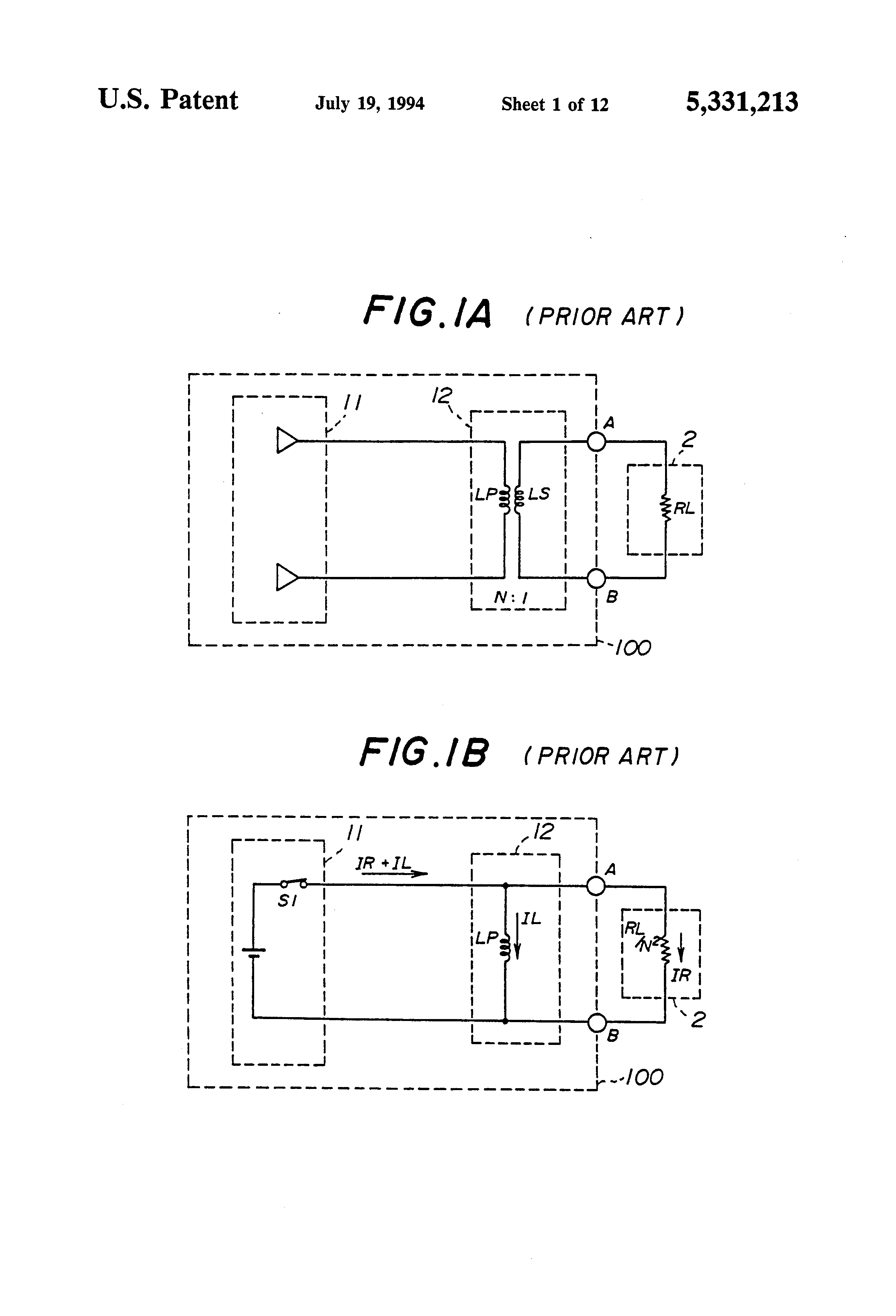 Patent Us5331213 Pulse Transmission Circuit With Undershoot Diagram Of Digital Isolation And Termination Drawing
