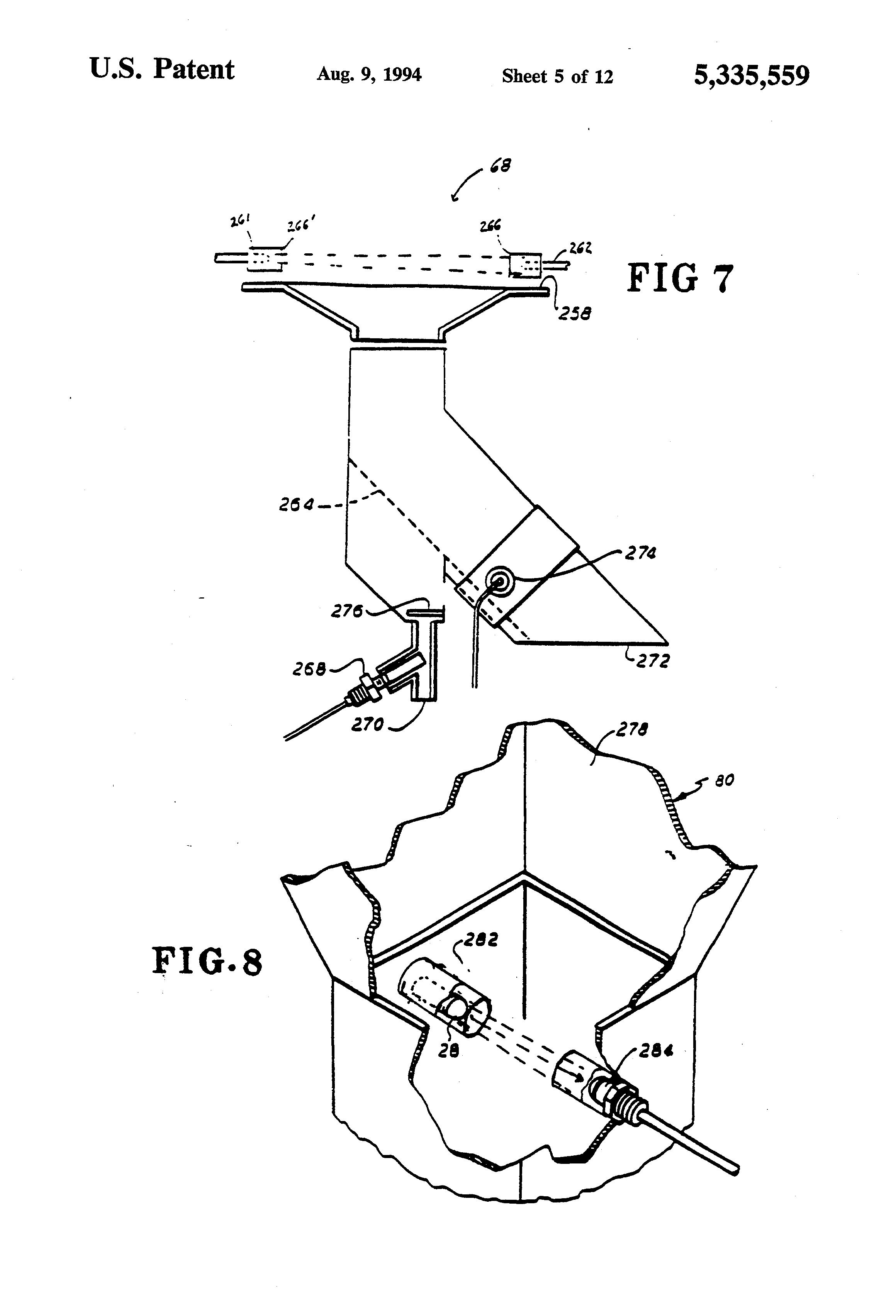 patent us5335559