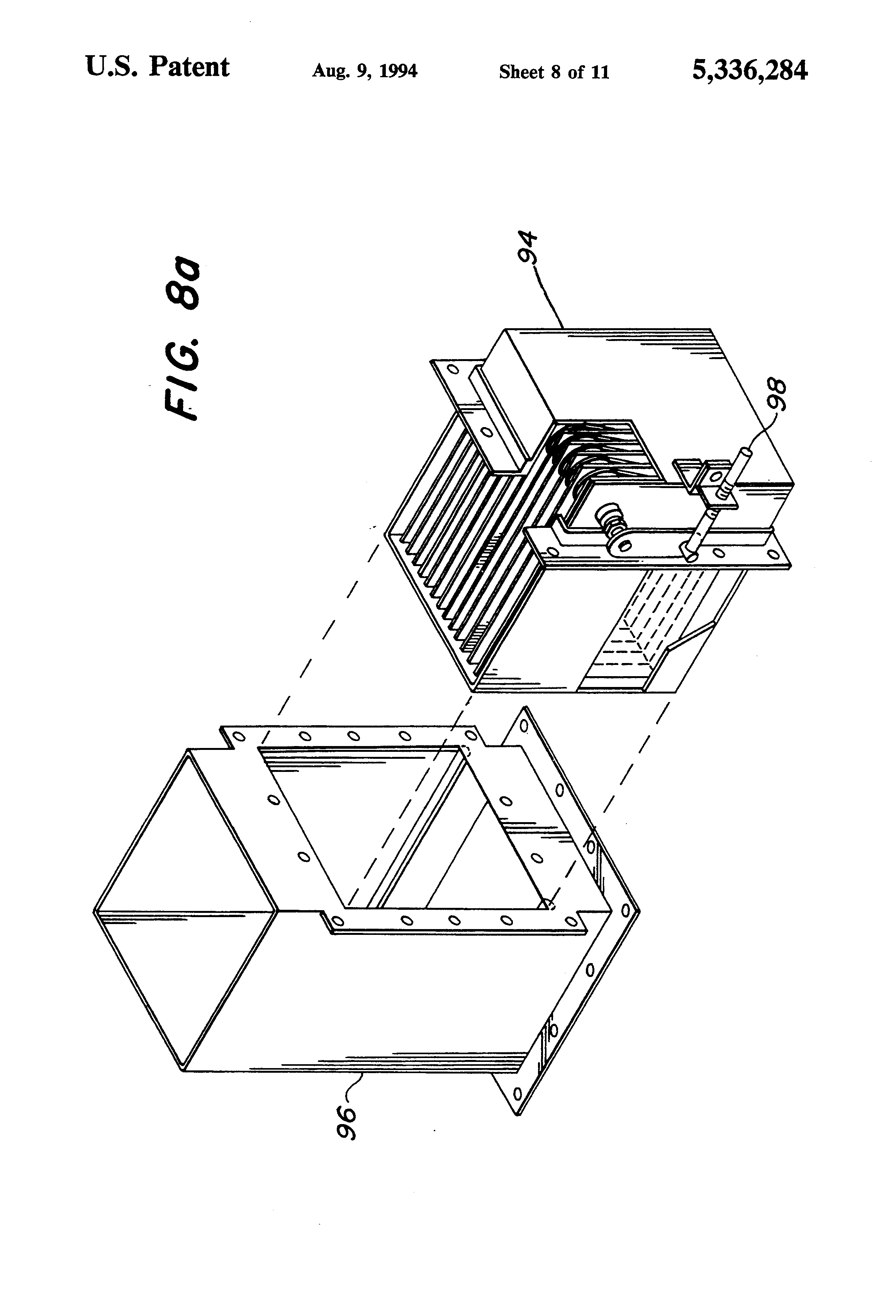 Patent Us5336284 Multiple Throat Narrow Gap Venturi