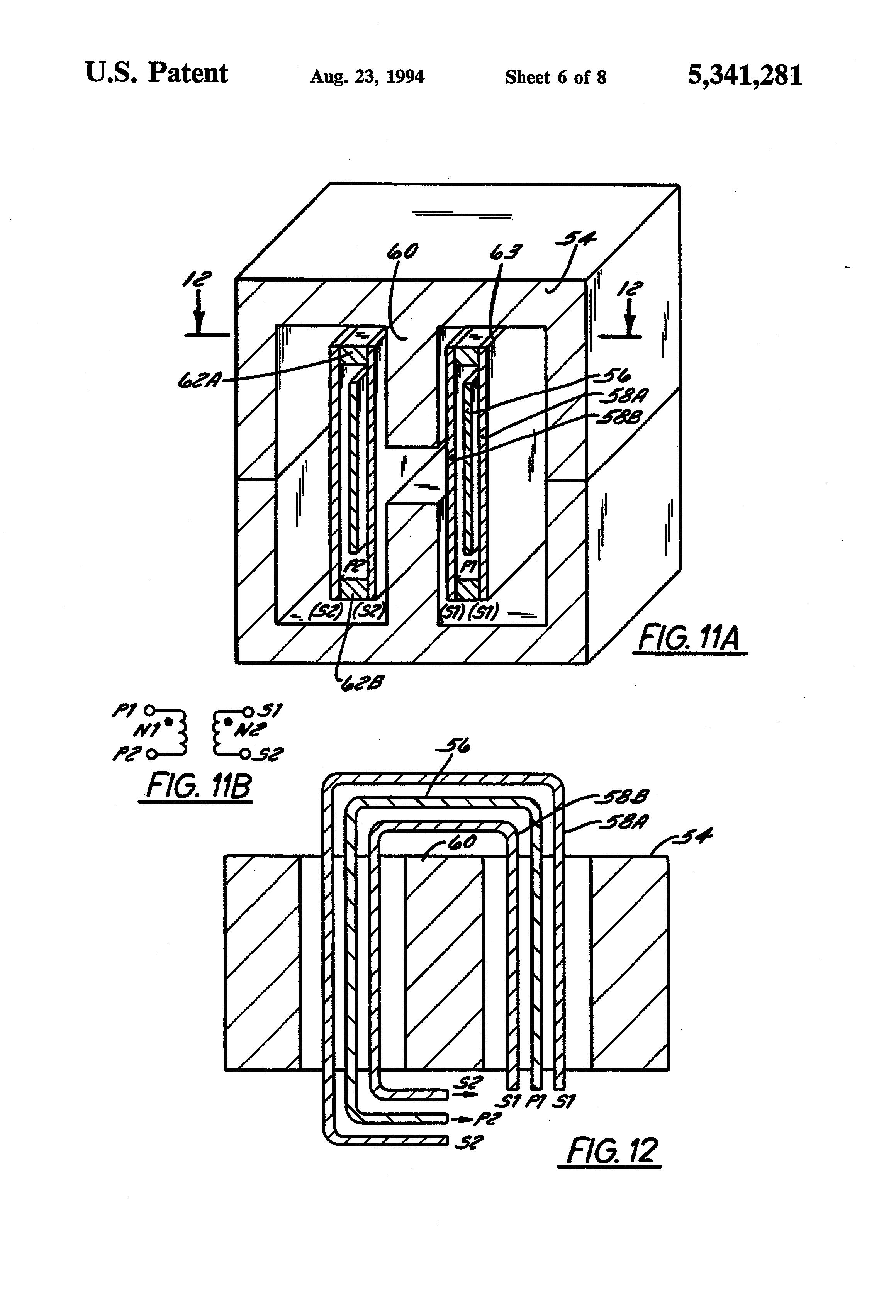 patent us5341281