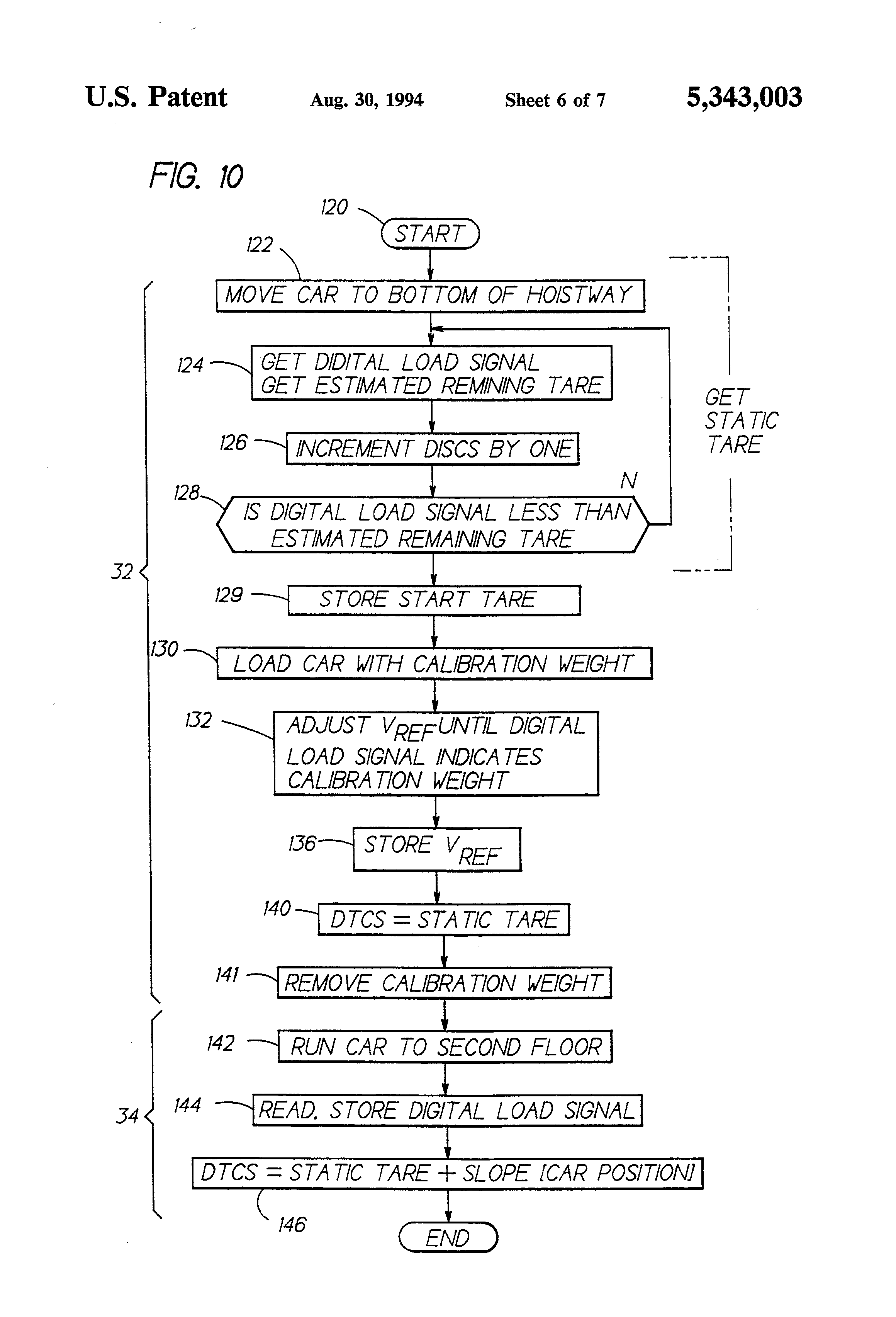 patent us recalibration of hitch load weighing using  patent drawing