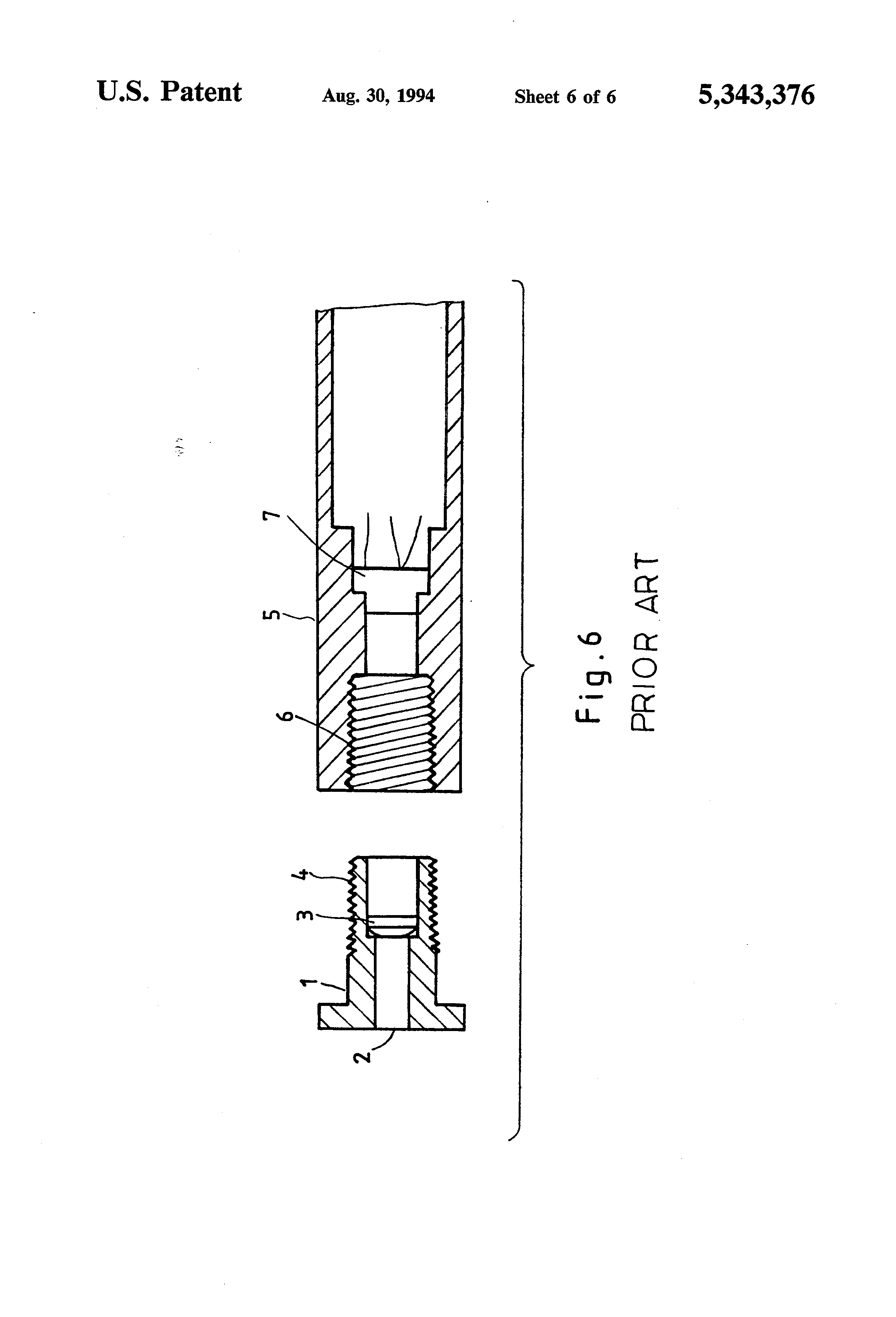 patent us5343376 - structure of laser pointer