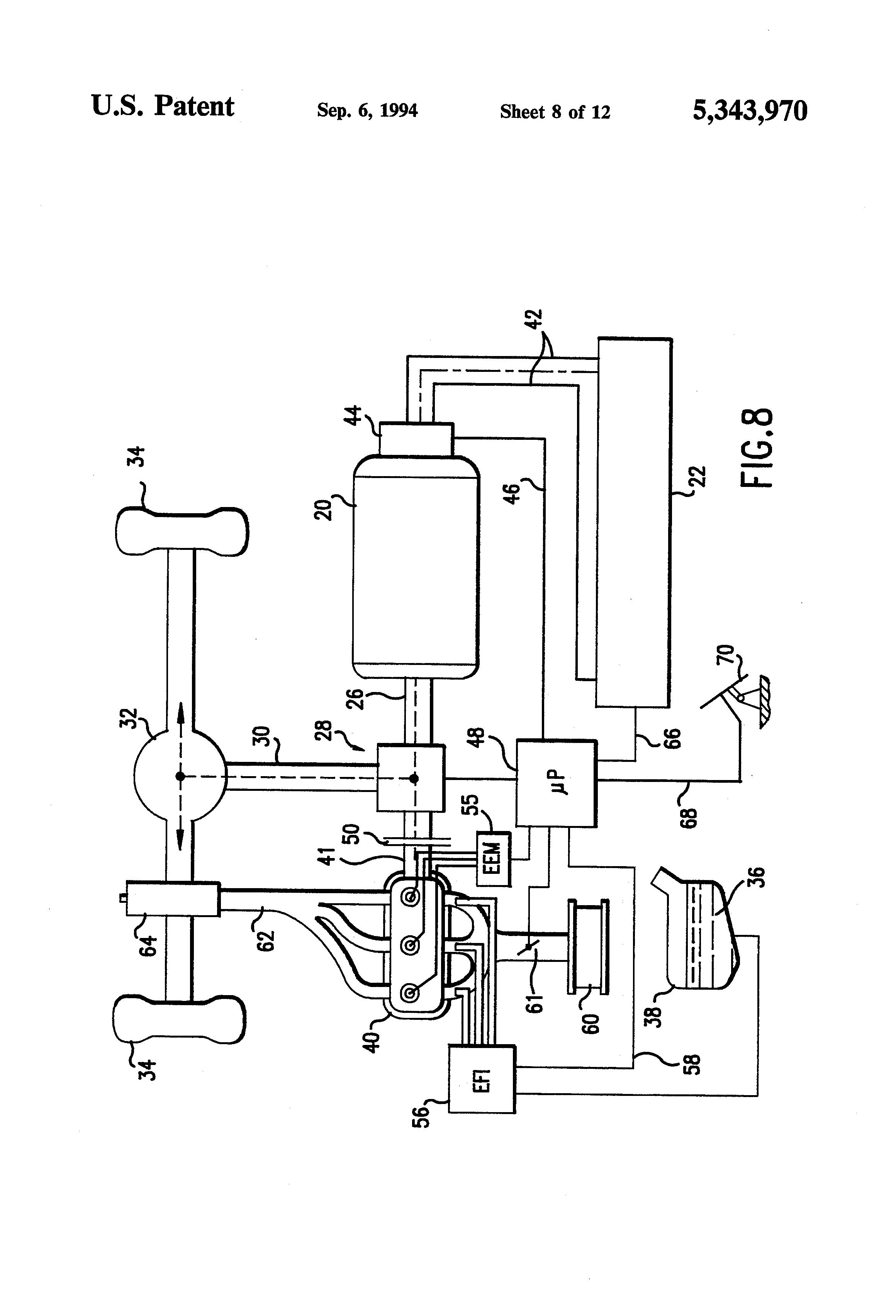 Patent Us5343970 Hybrid Electric Vehicle Google Patents | Autos Post