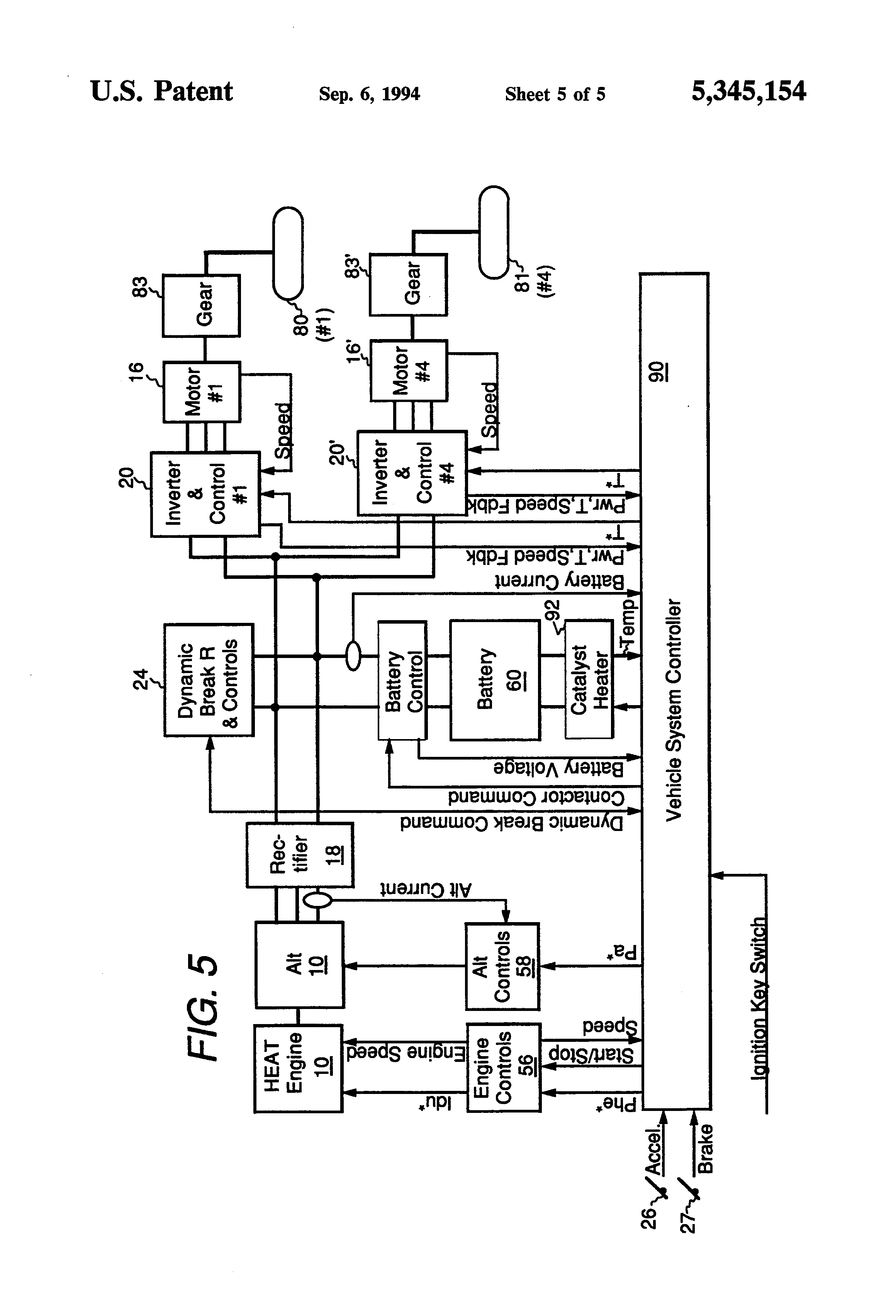 Closed Loop Control For Ac Motor Using Five Level Inverter Auto Circuit Diagram Stepper Driver Uc3717a Block Of Induction Drive 28 Images Patent Us5345154