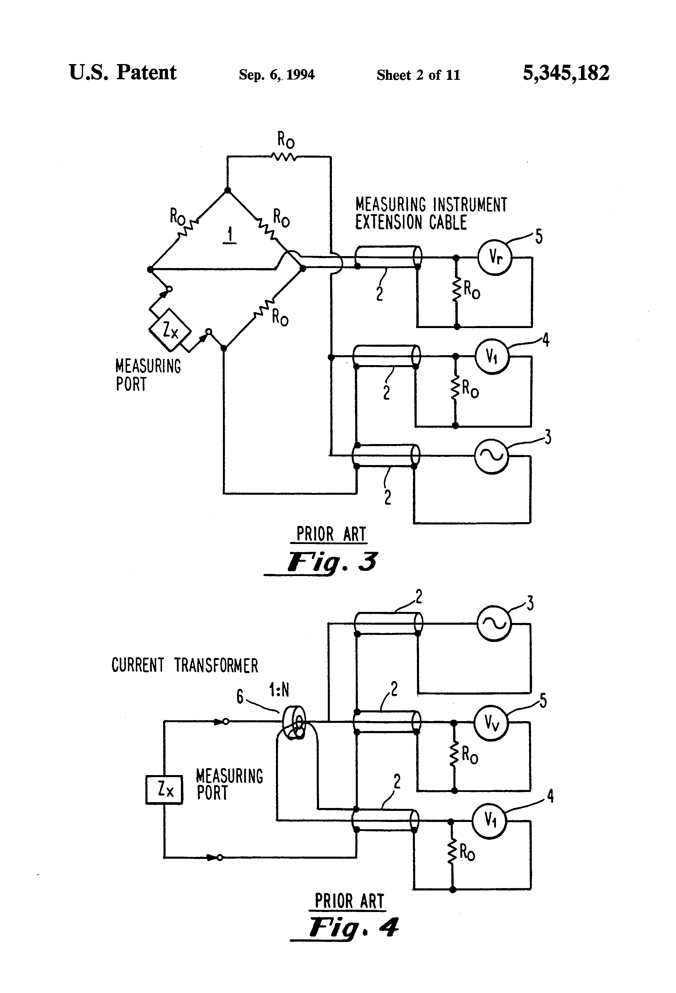 Patent Us5345182 Impedance Meter Capable Of Performing Figure 2 Rf Inductance Circuit Diagram Drawing