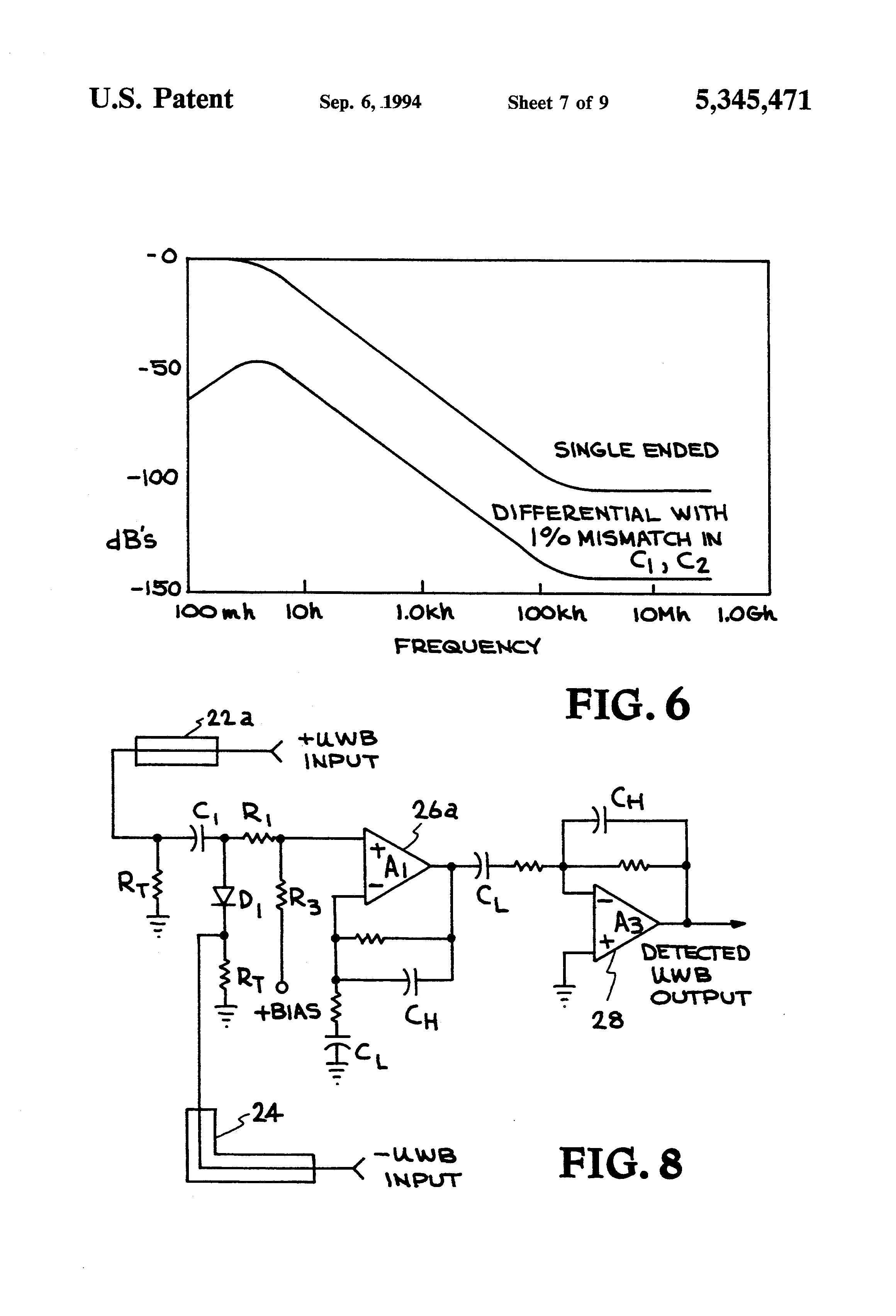 patent us5345471 ultra wideband receiver google patents patent drawing
