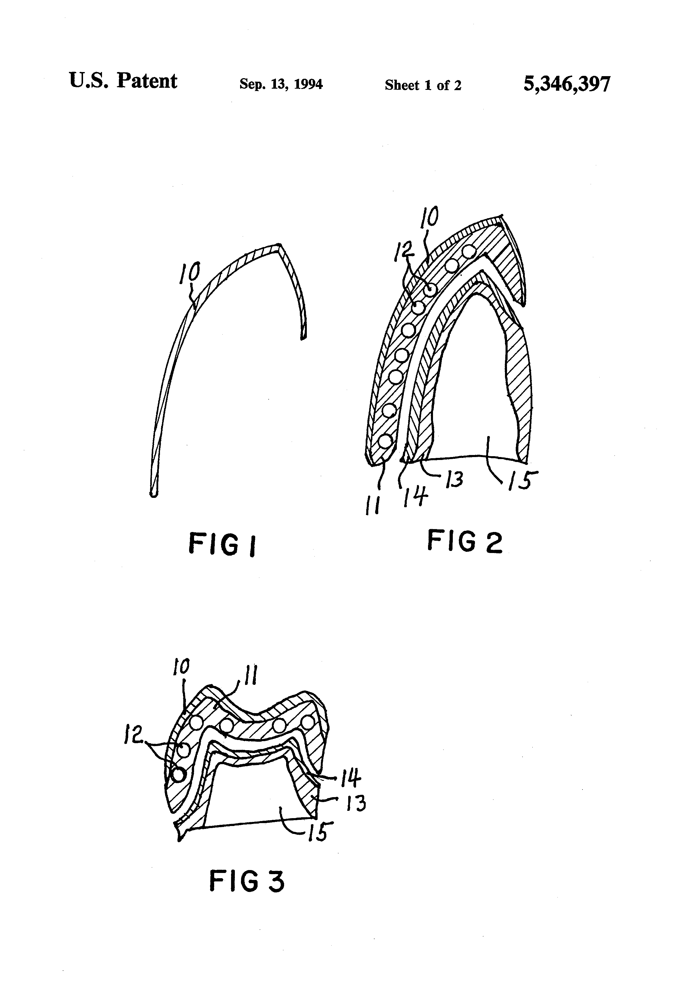 patent us5346397 process for making ceramic dental crowns