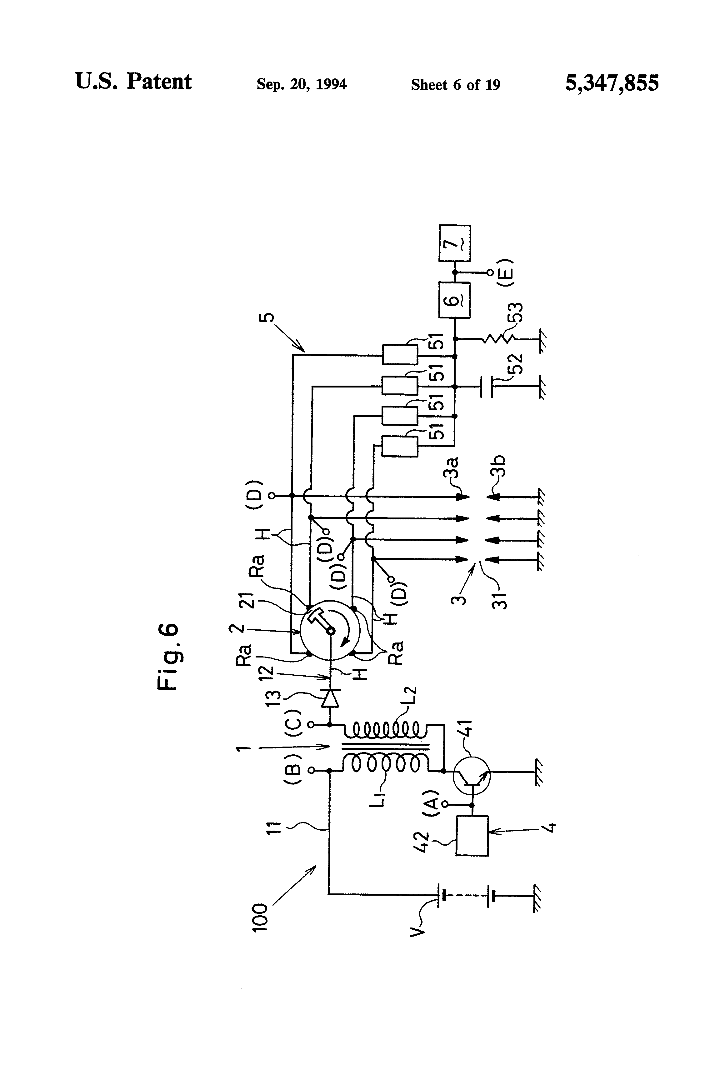 US5347855 6 patent us5347855 misfire detector device for use in an internal pulse adrenaline wiring diagram at n-0.co