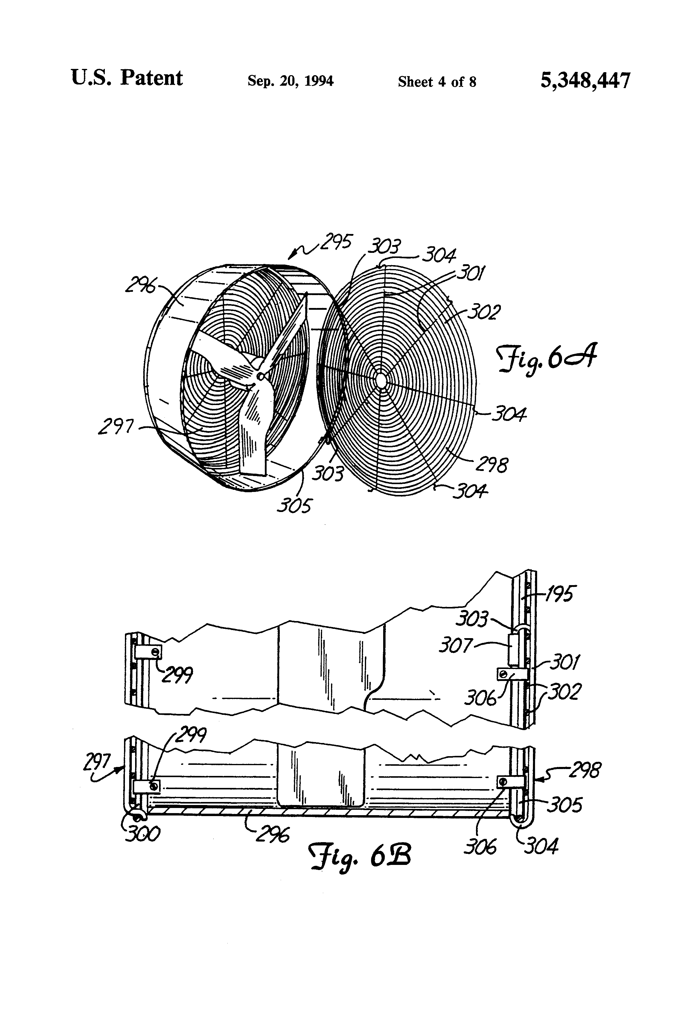 US5348447 4 patent us5348447 improved fan housing with easy access google vornado wiring diagram at mifinder.co