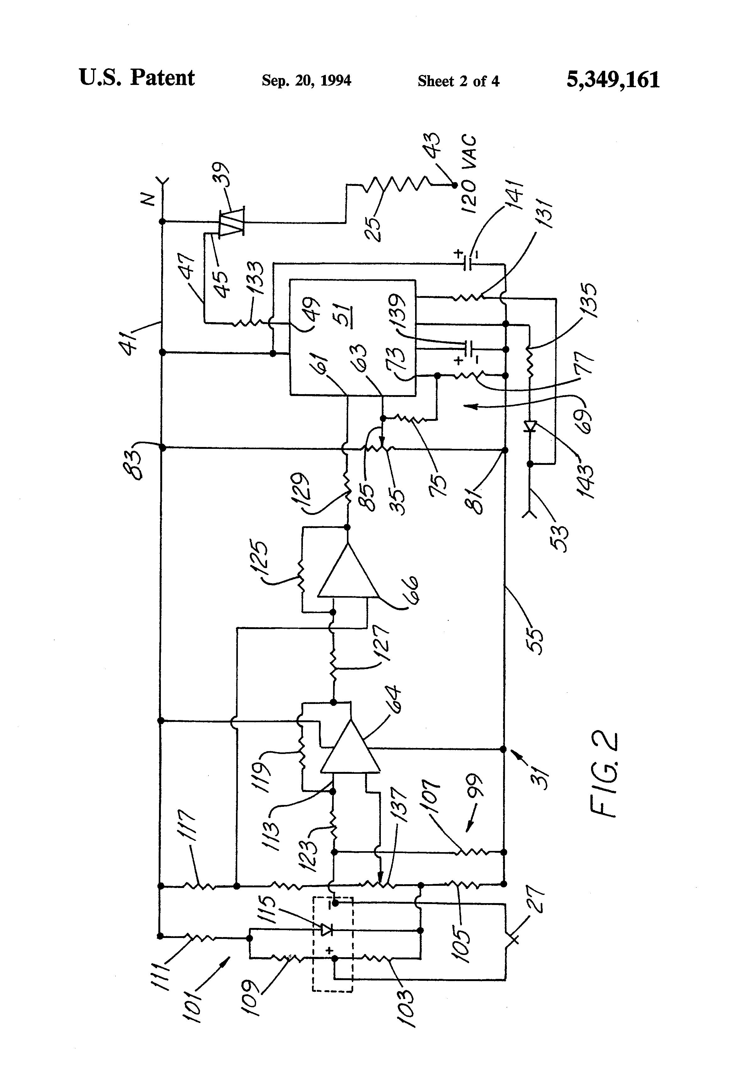 patent us5349161