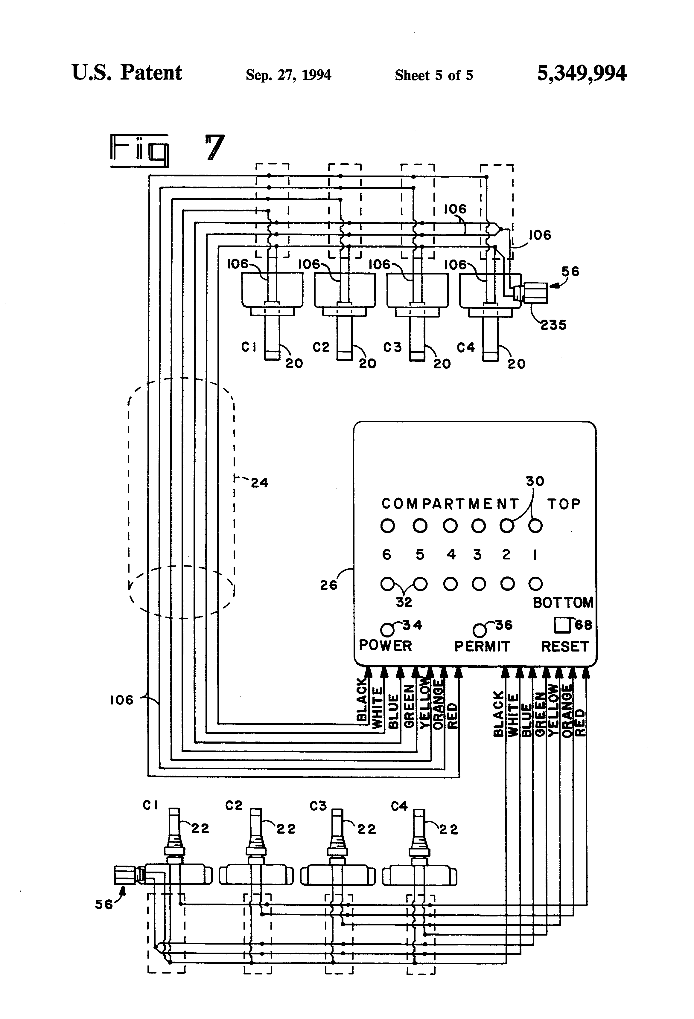 US5349994 5 patent us5349994 control system for filling tanks with liquids scully system wire diagram at bayanpartner.co