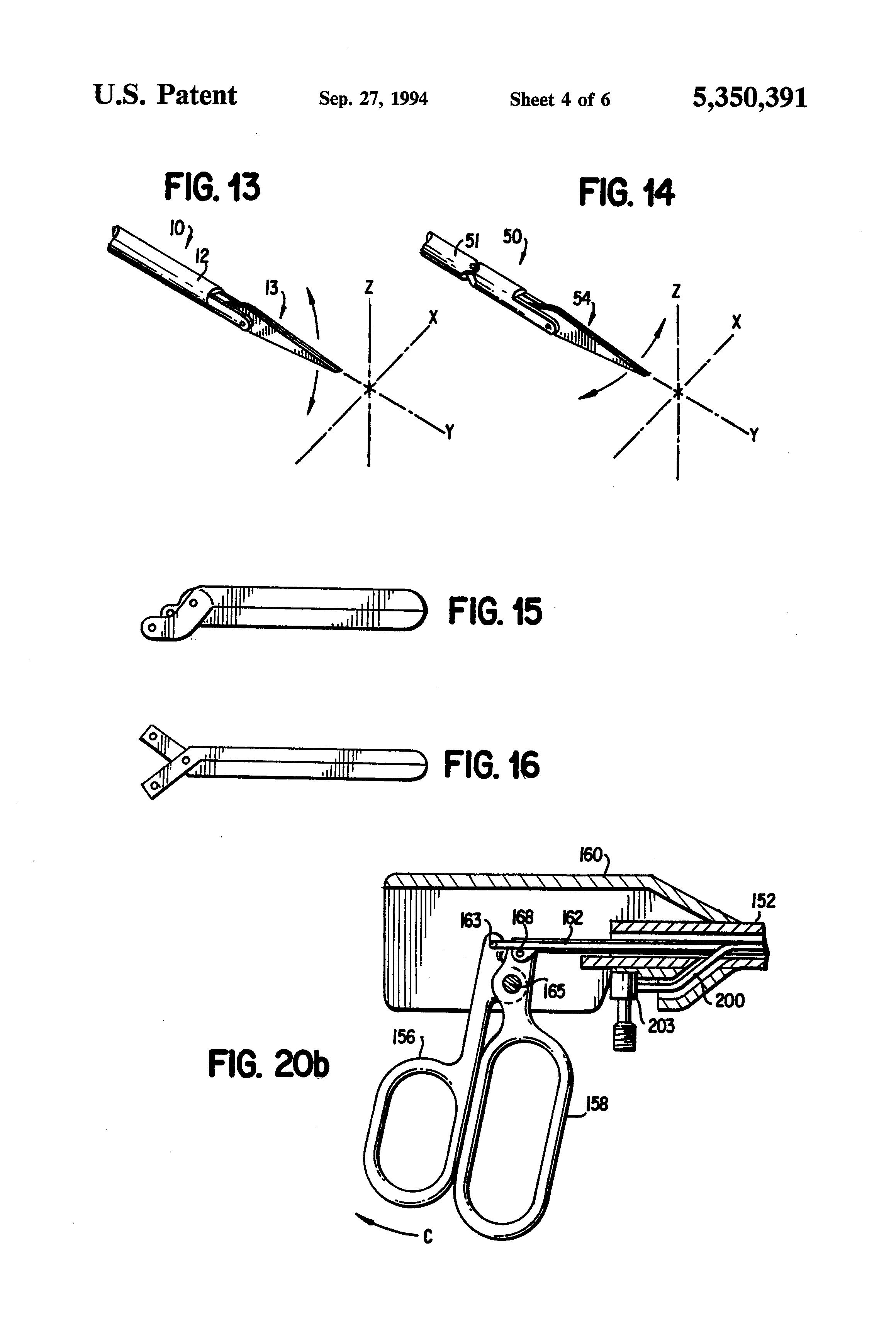 patent us5350391 - laparoscopic instruments