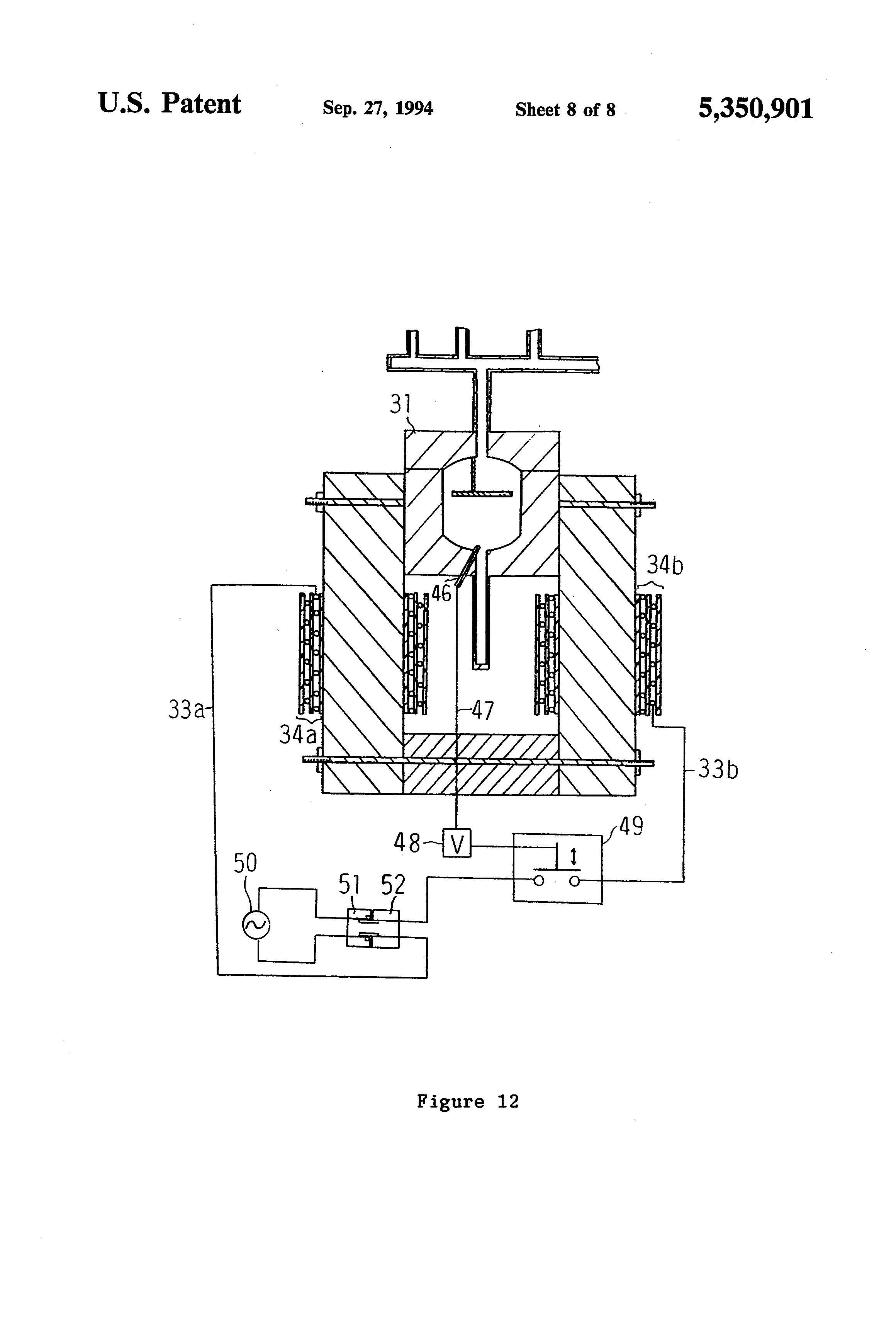 patent us5350901 - electromagnetic induction steam generator