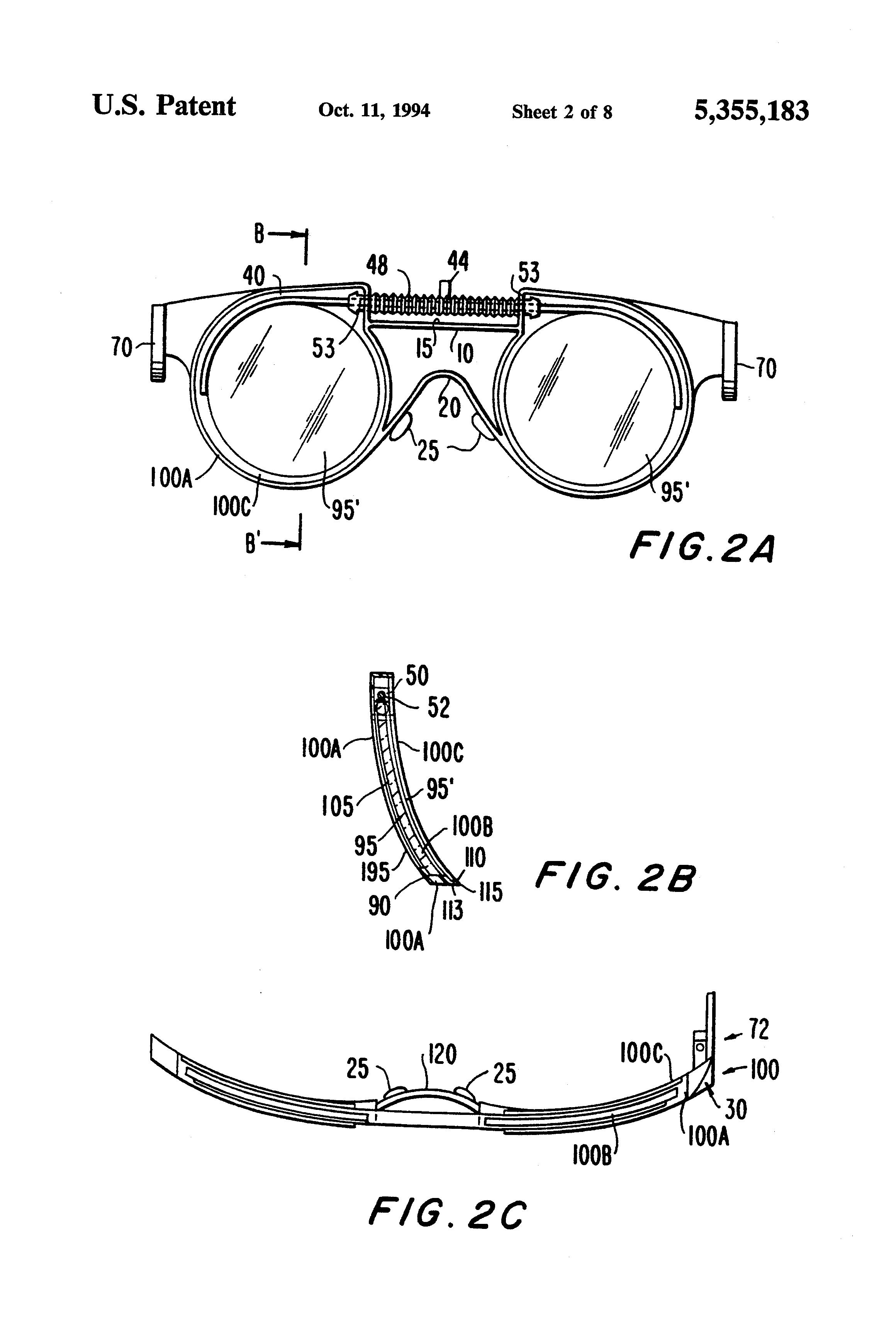 Patent US5355183 - Sealed adjustable polarized sunglasses - Google ...