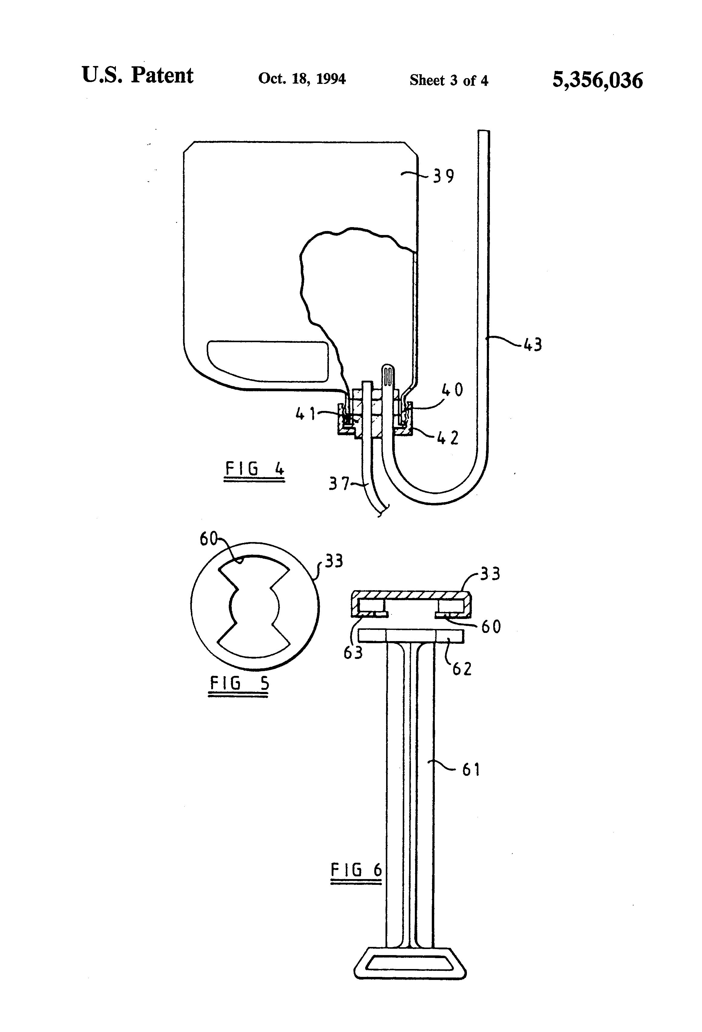 brevetto us5356036