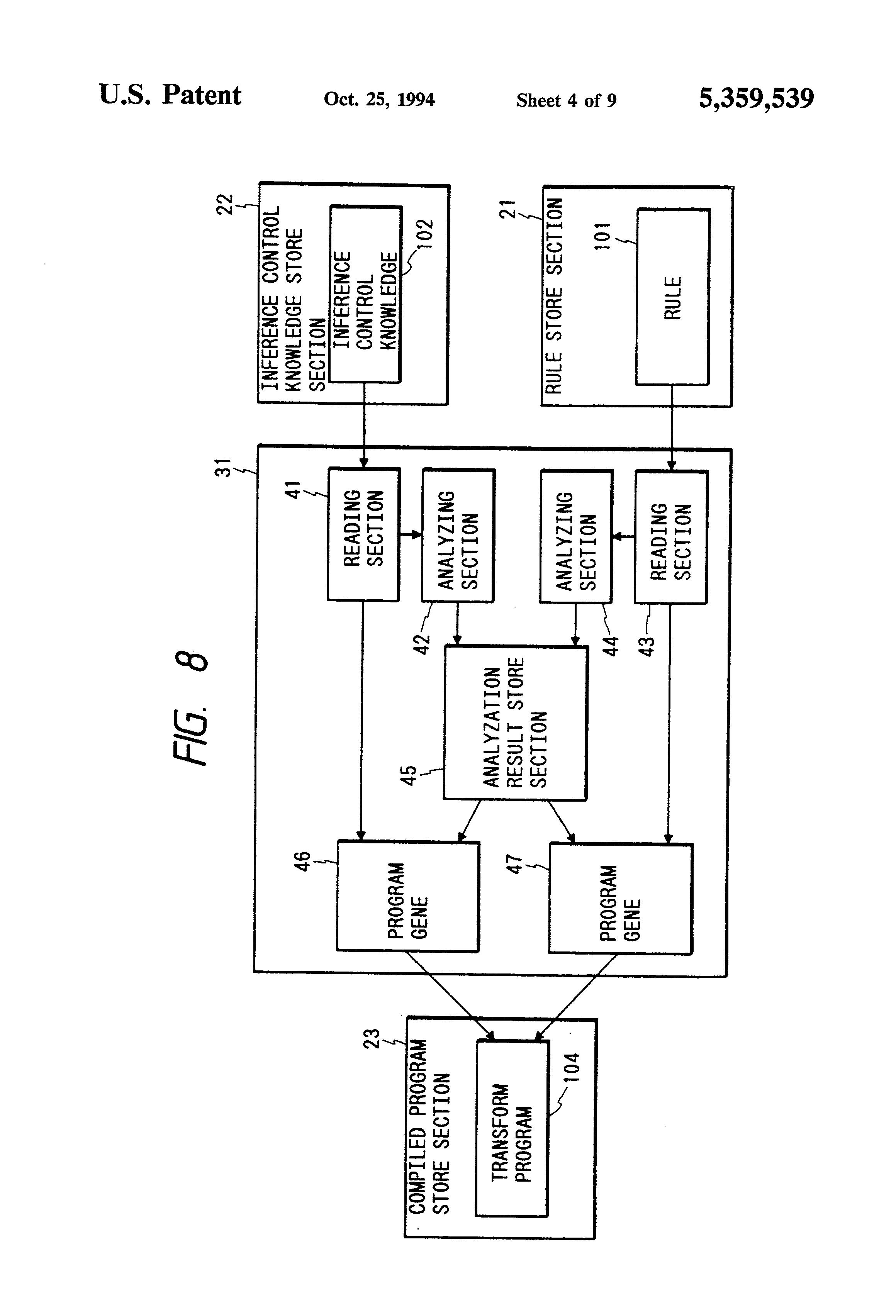 patent us5359539