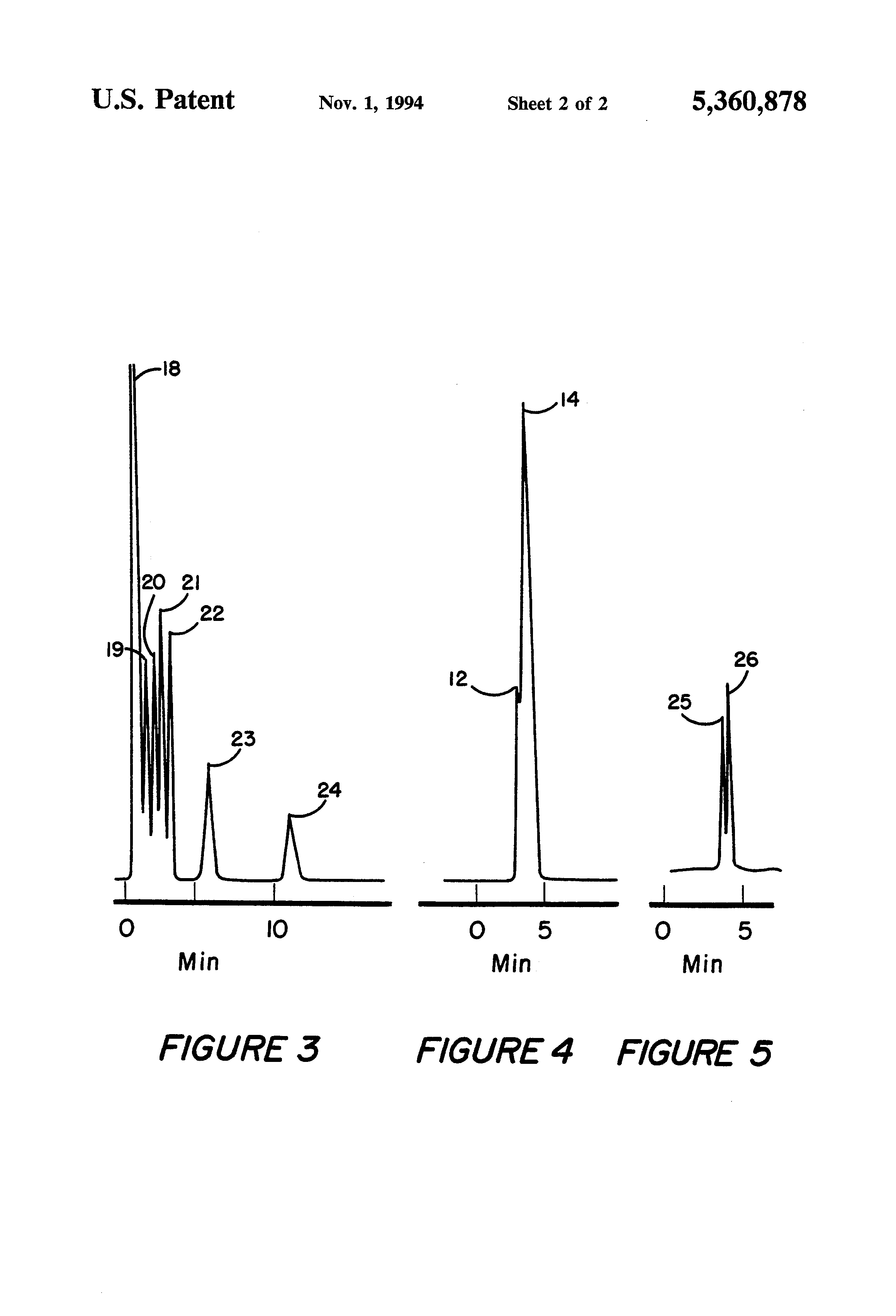 patent us5360878 - highly crosslinked silicon polymers for gas chromatography columns