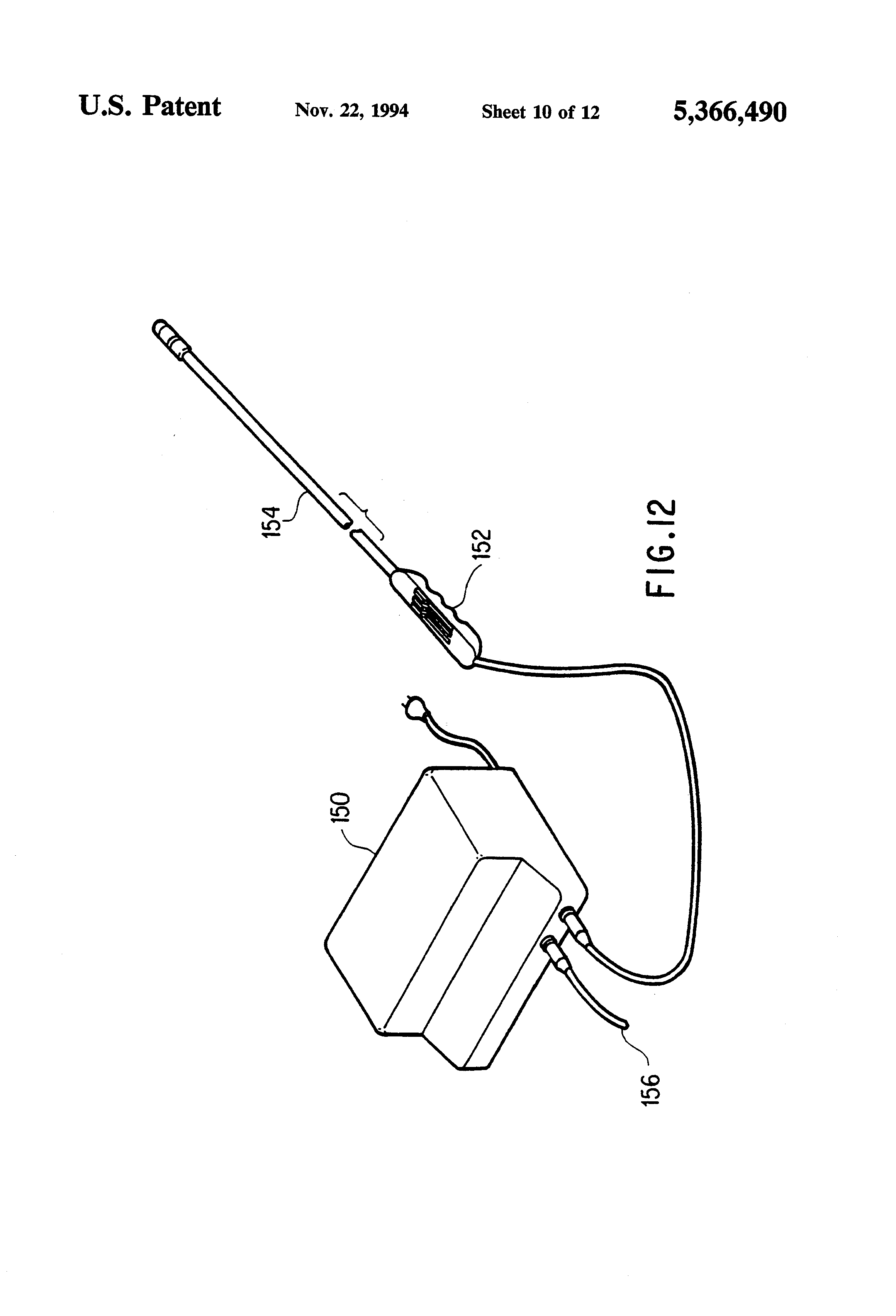 patent us5366490