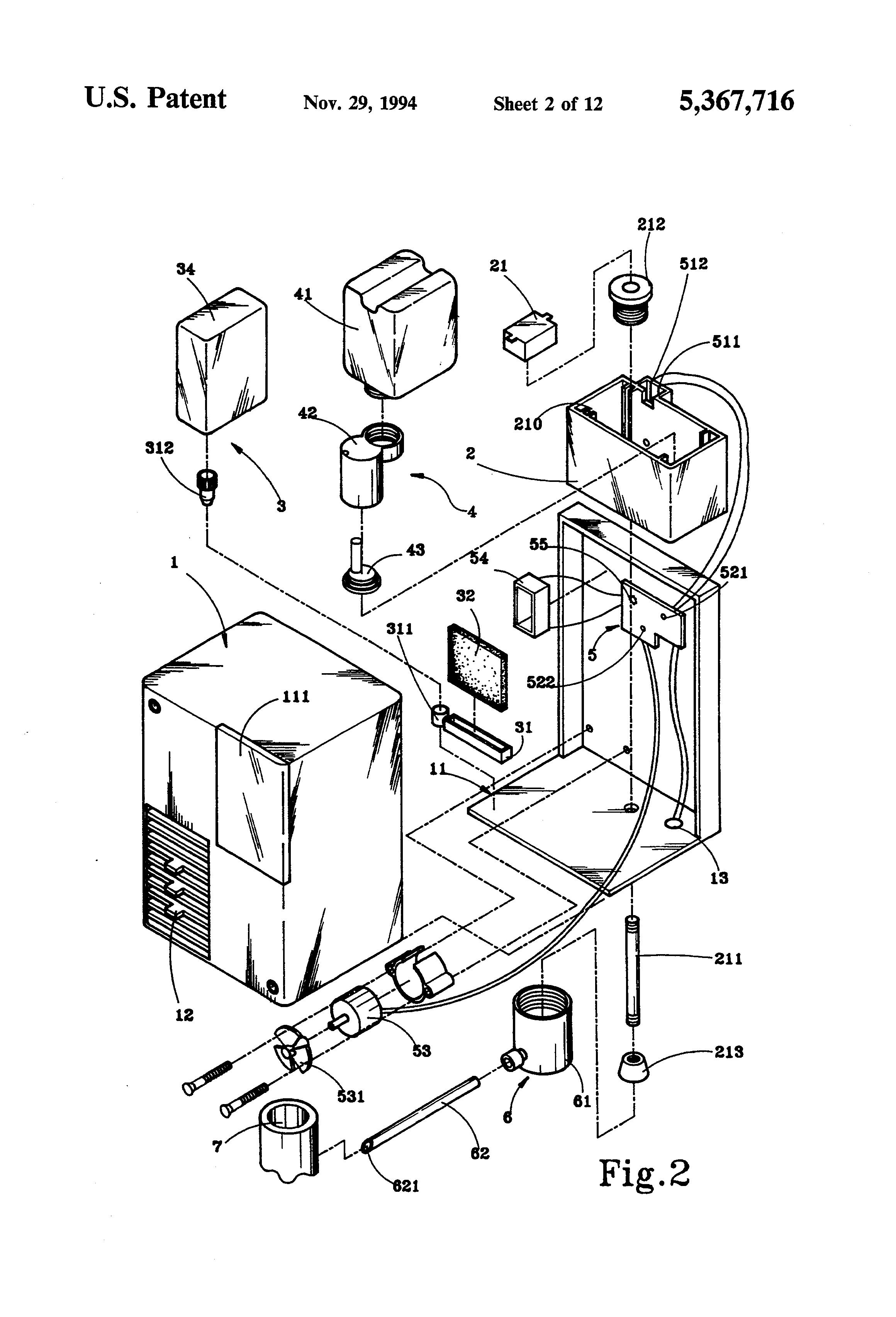 patent us5367716