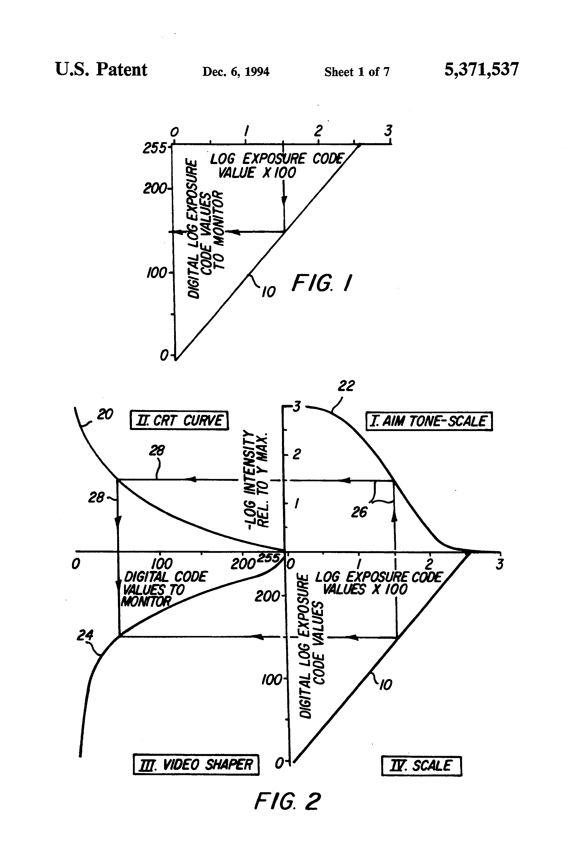 Patent Us5371537 Method And Apparatus For Automatically Crt Monitor Diagram Drawing