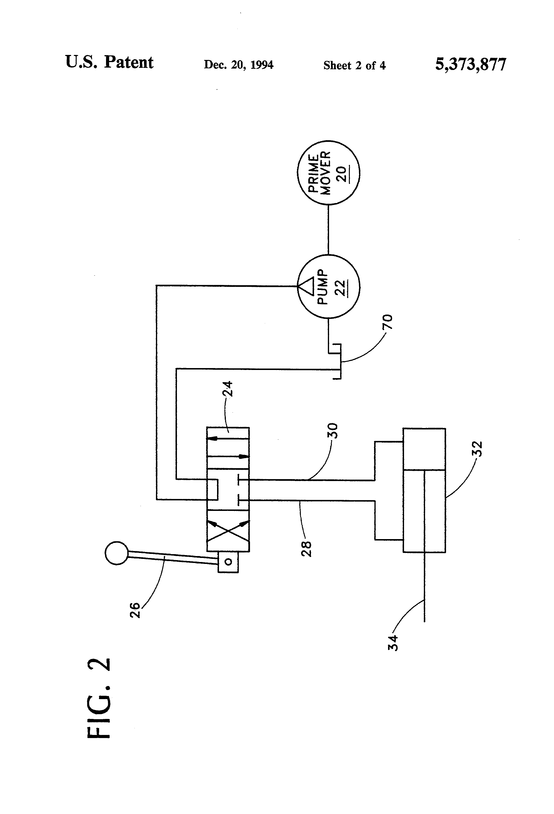 patent us5373877 - log splitter