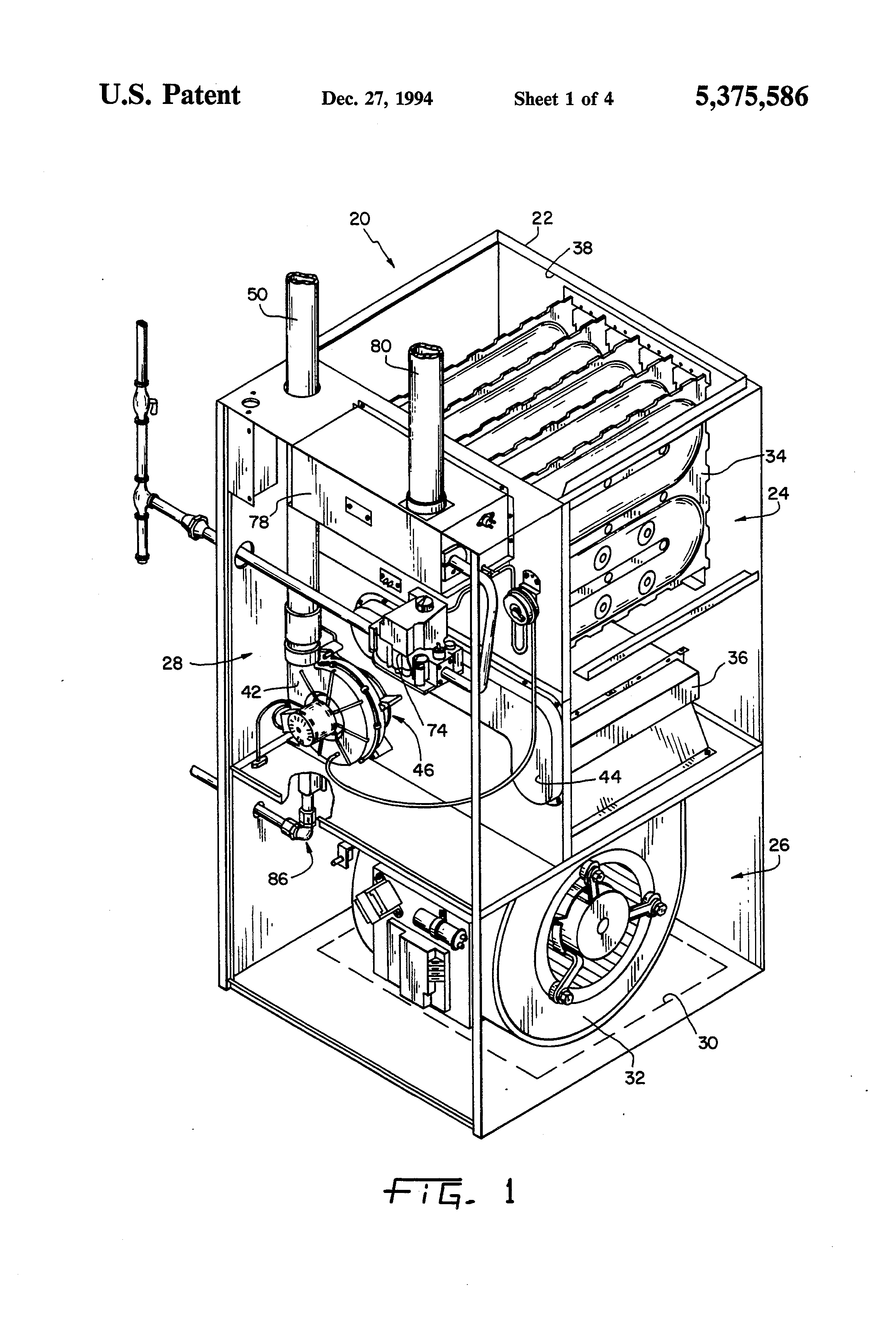 Patent Us5375586 Condensate Isolator And Drainage System