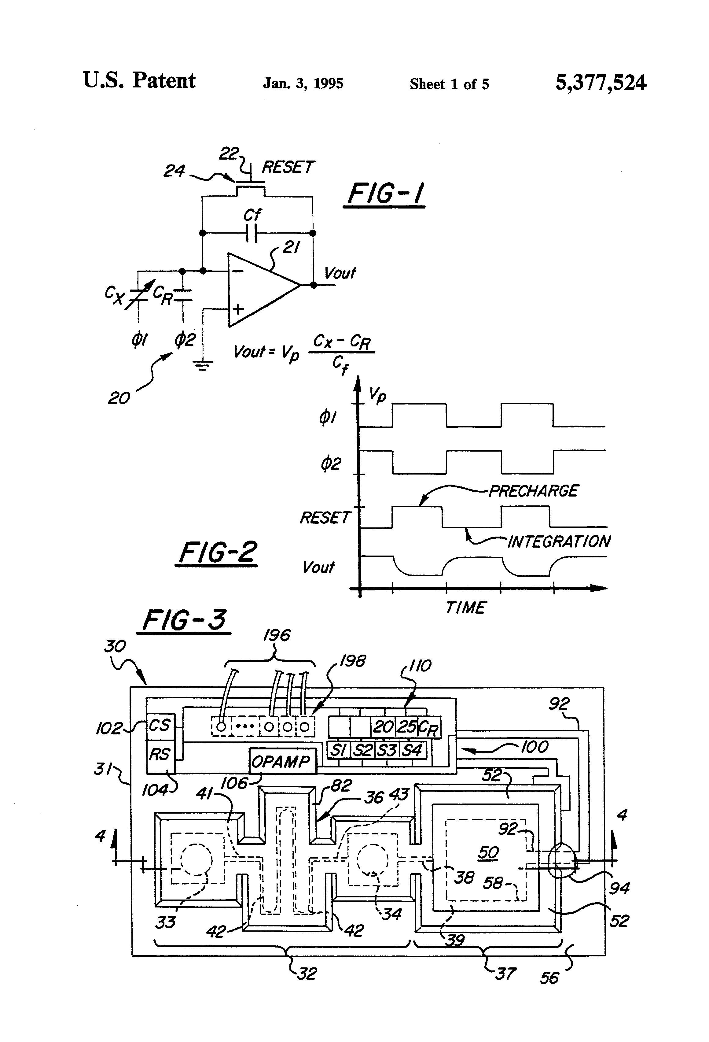 US5377524 2 patent us5377524 self testing capacitive pressure transducer and ford 7740 wiring diagram at bayanpartner.co