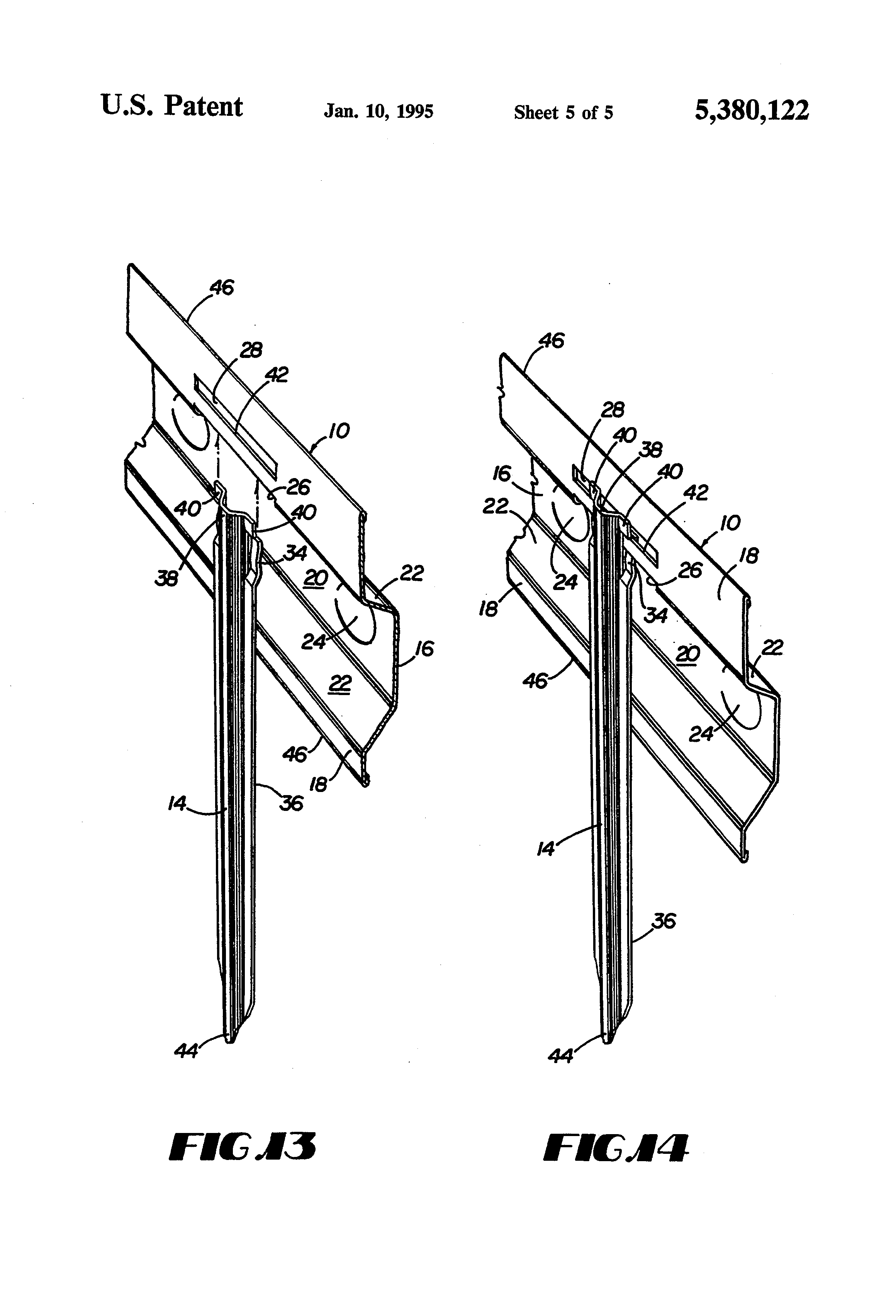 Joint Key Concrete : Patent us joint forms for concrete slabs and
