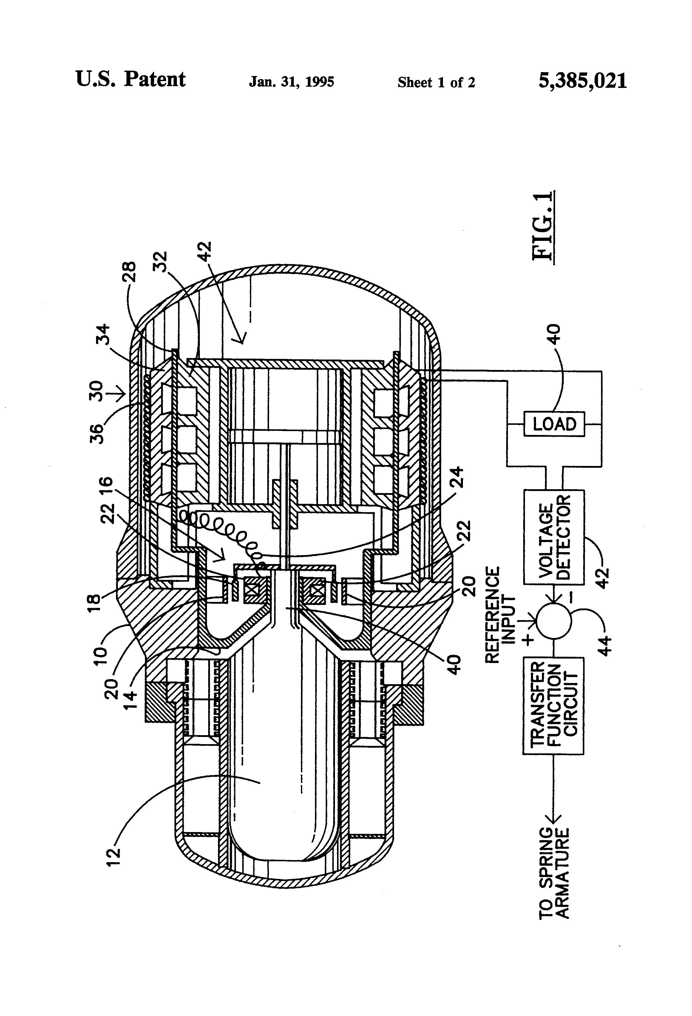 US5385021 on Free Piston Stirling Engine