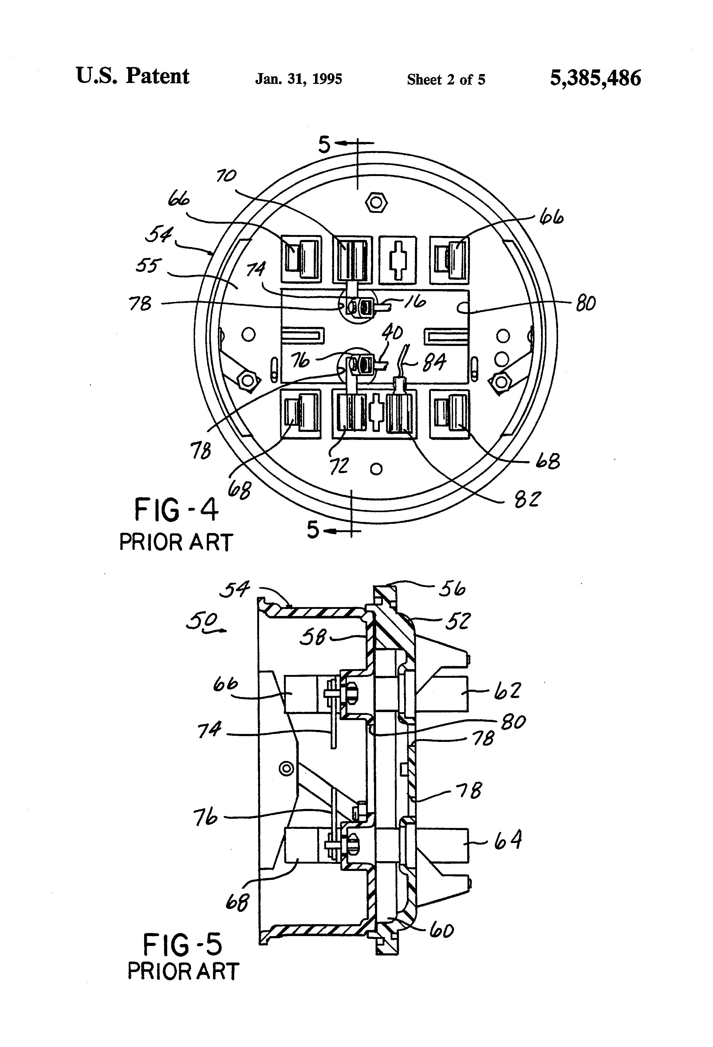 5 Jaw Meter Socket Wiring Diagram Wiring Diagram And Hernes – Meter Base Wiring Diagram