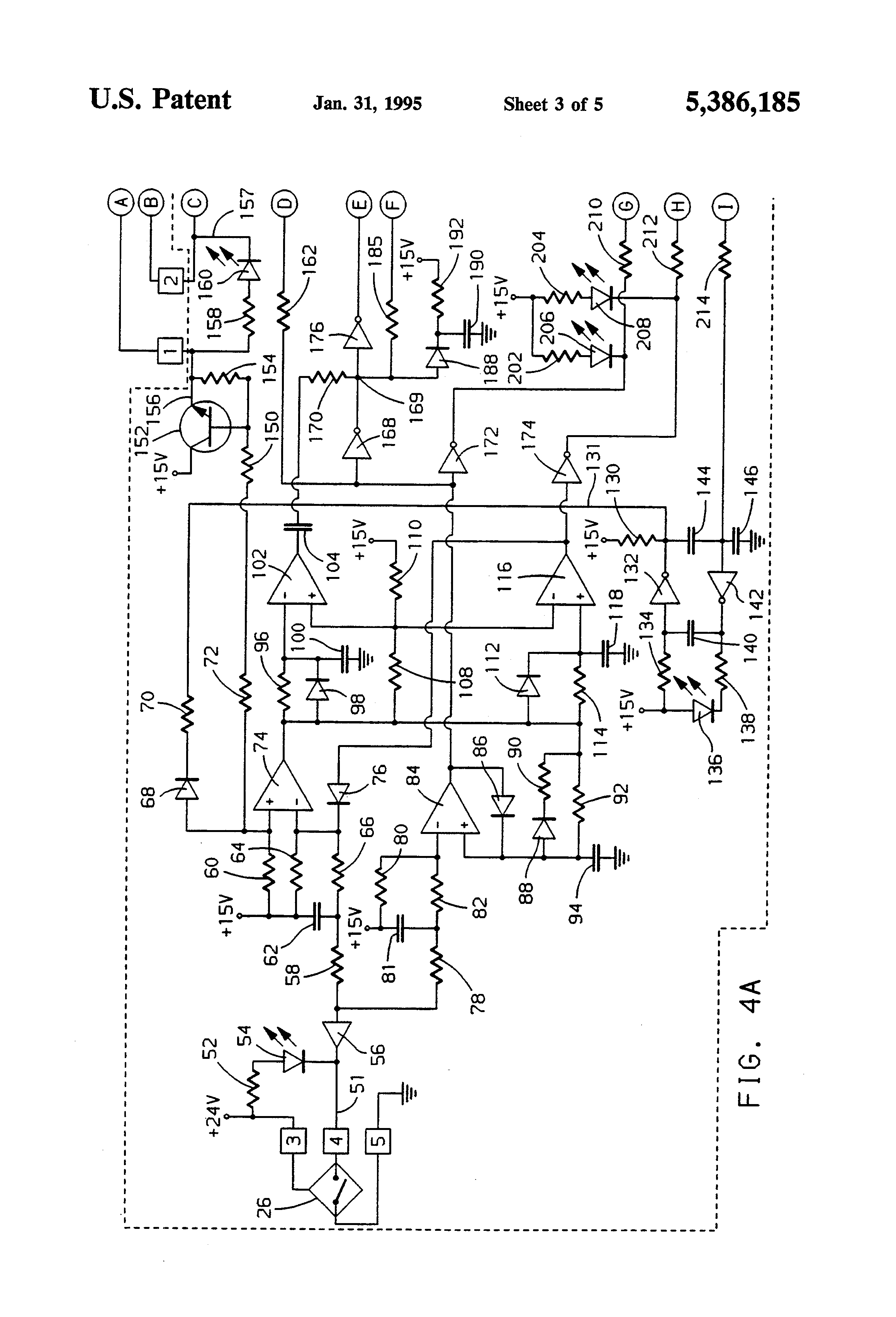 US5386185 3 patent us5386185 high speed ac motor controller google patents Single Phase Motor Wiring Diagrams at gsmx.co