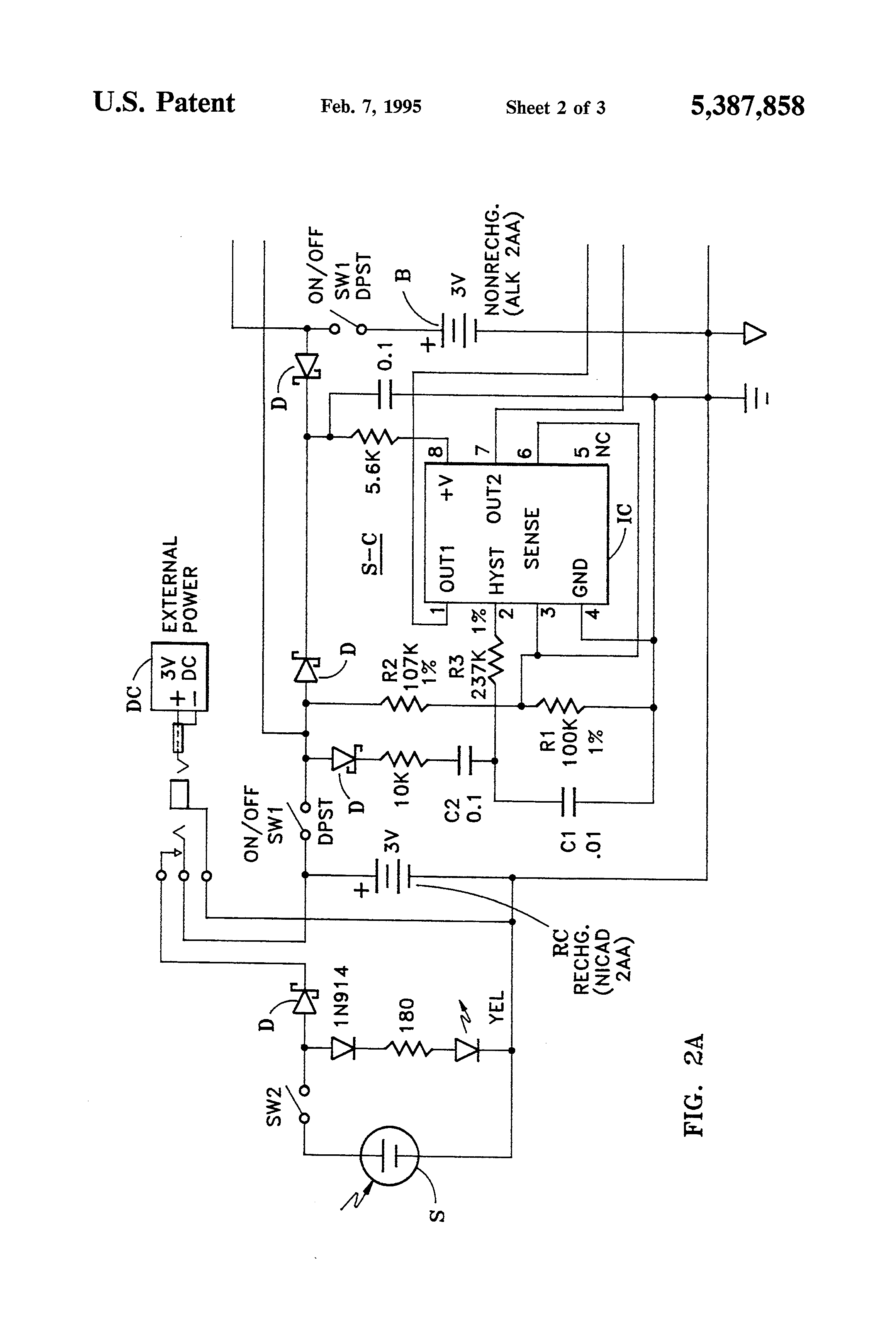 patent us5387858 energy conserving multiple power source and patent drawing