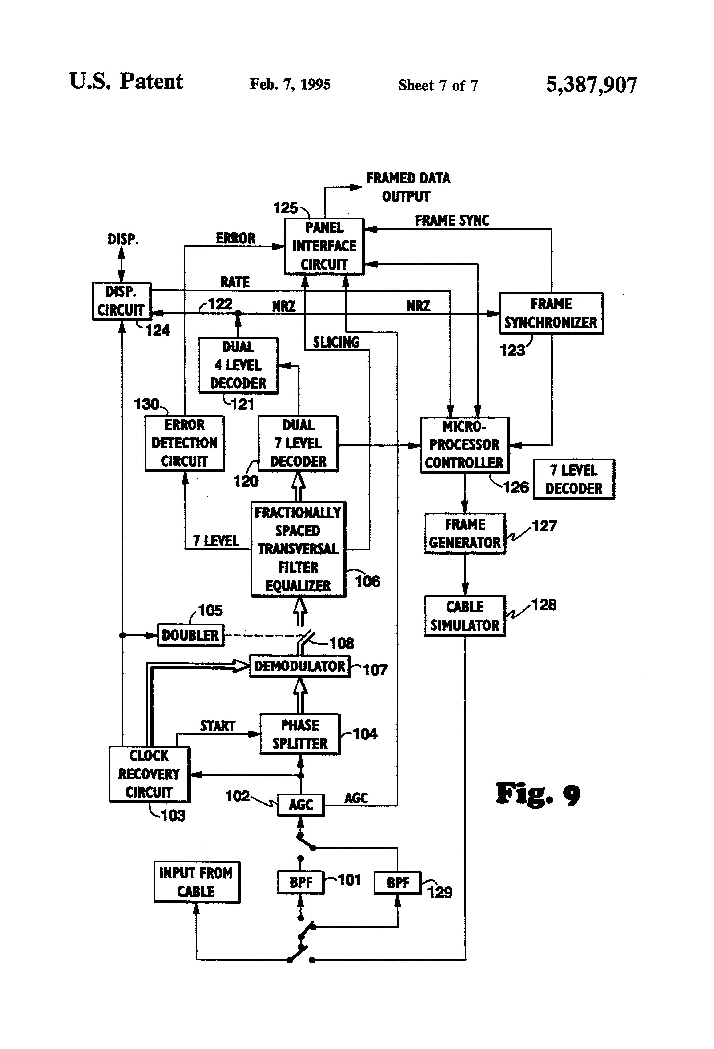 patent us5387907
