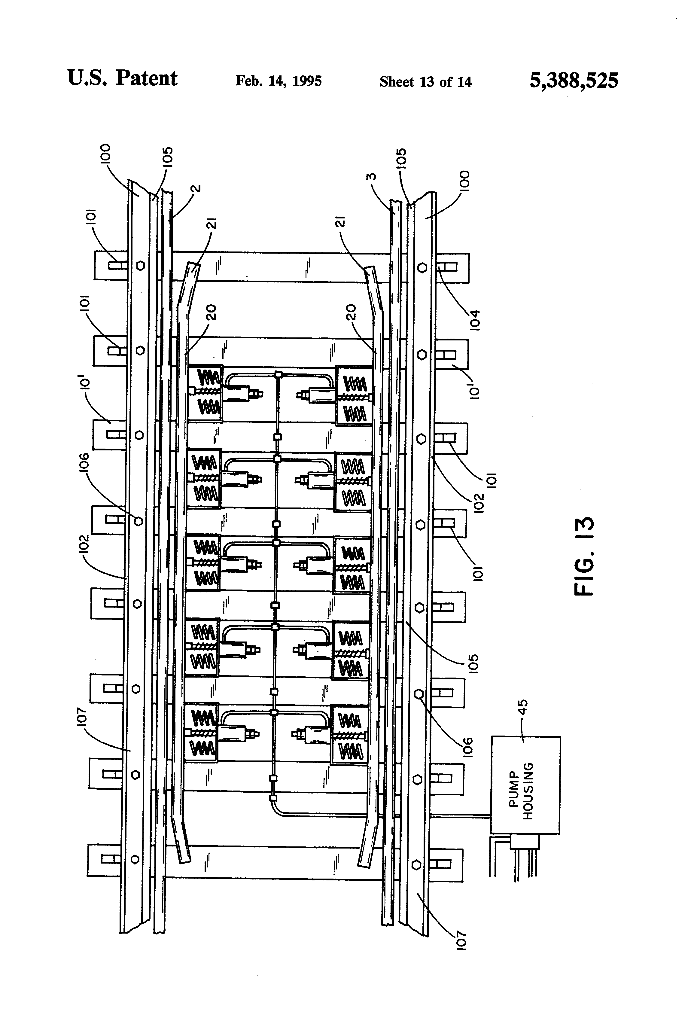 US5388525 13 patent us5388525 railway car retarder google patents  at bayanpartner.co