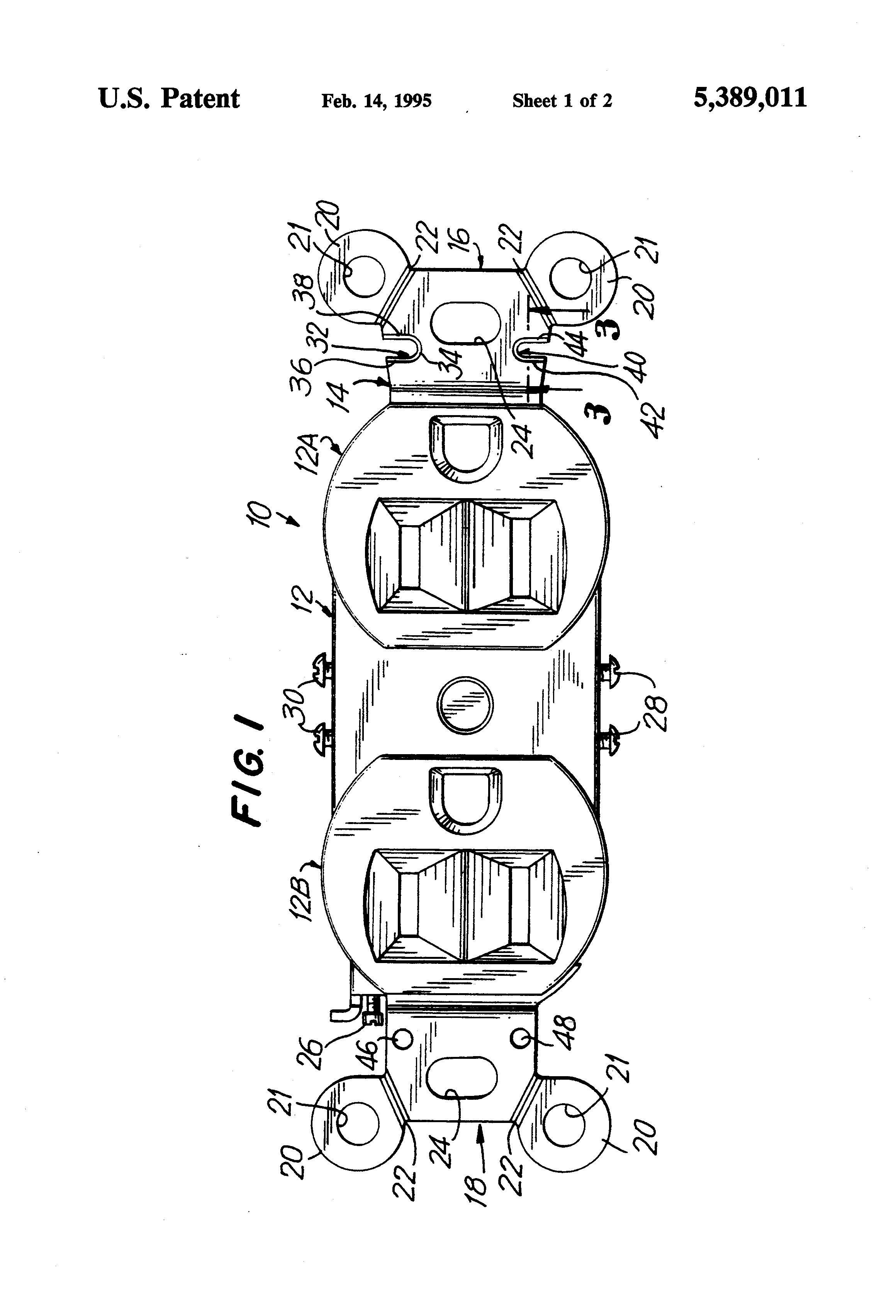 patent us5389011