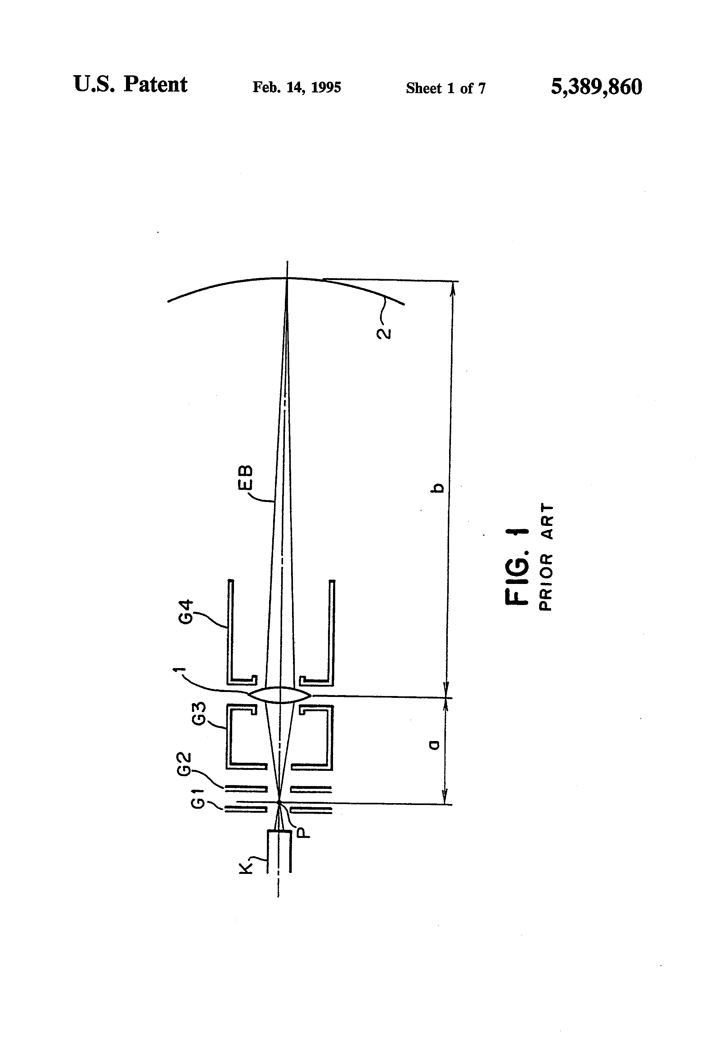Patent Us5389860 Focus Control Circuit For Crt Google Patents Screen Schematic Drawing