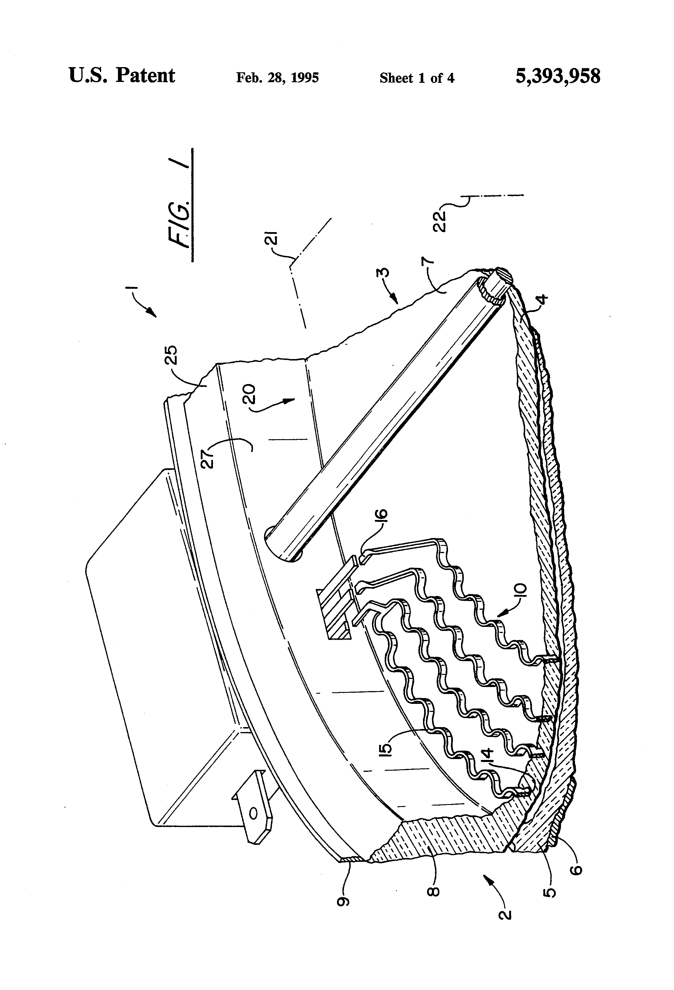patent us5393958