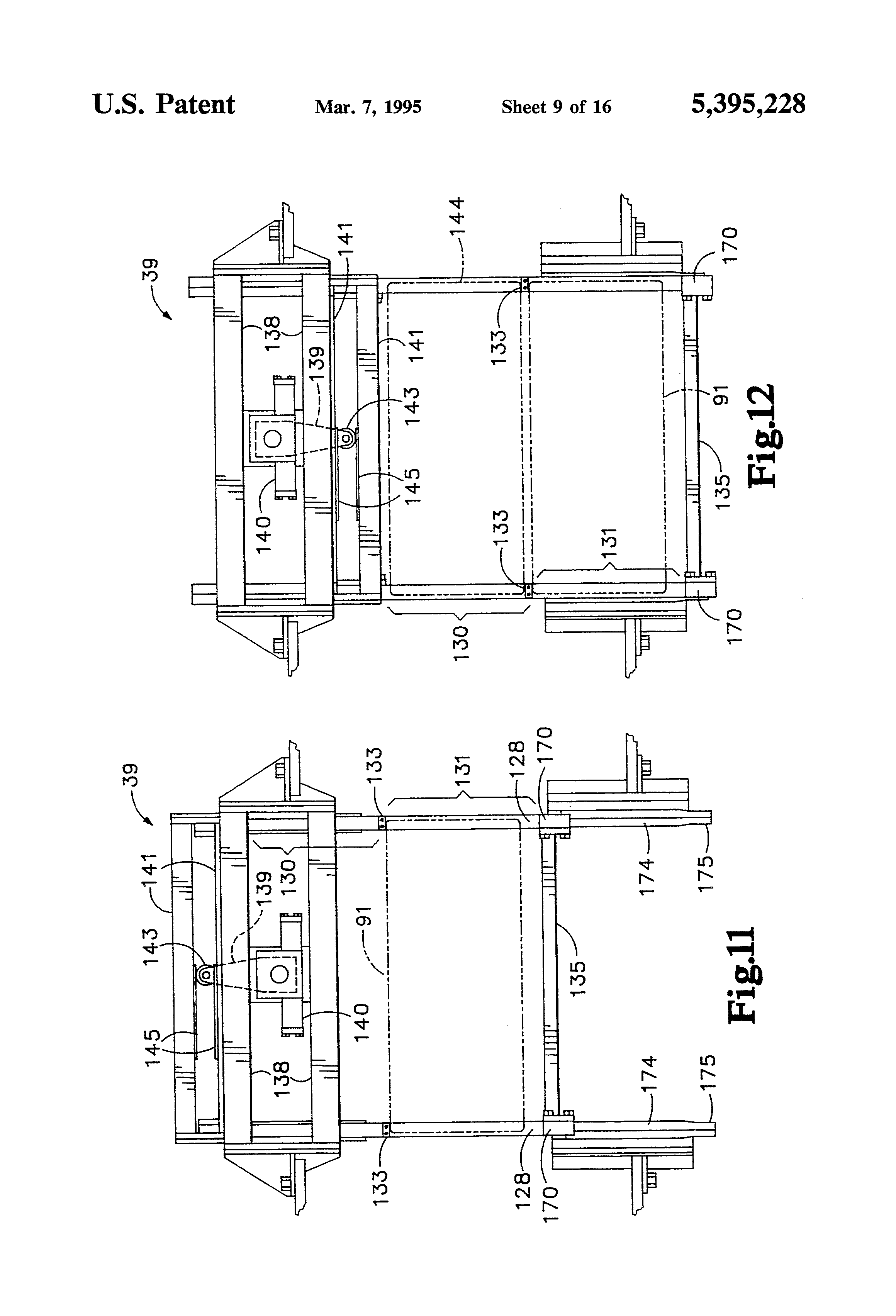 Patent Us5395228 Apparatus For Forming Concrete Products