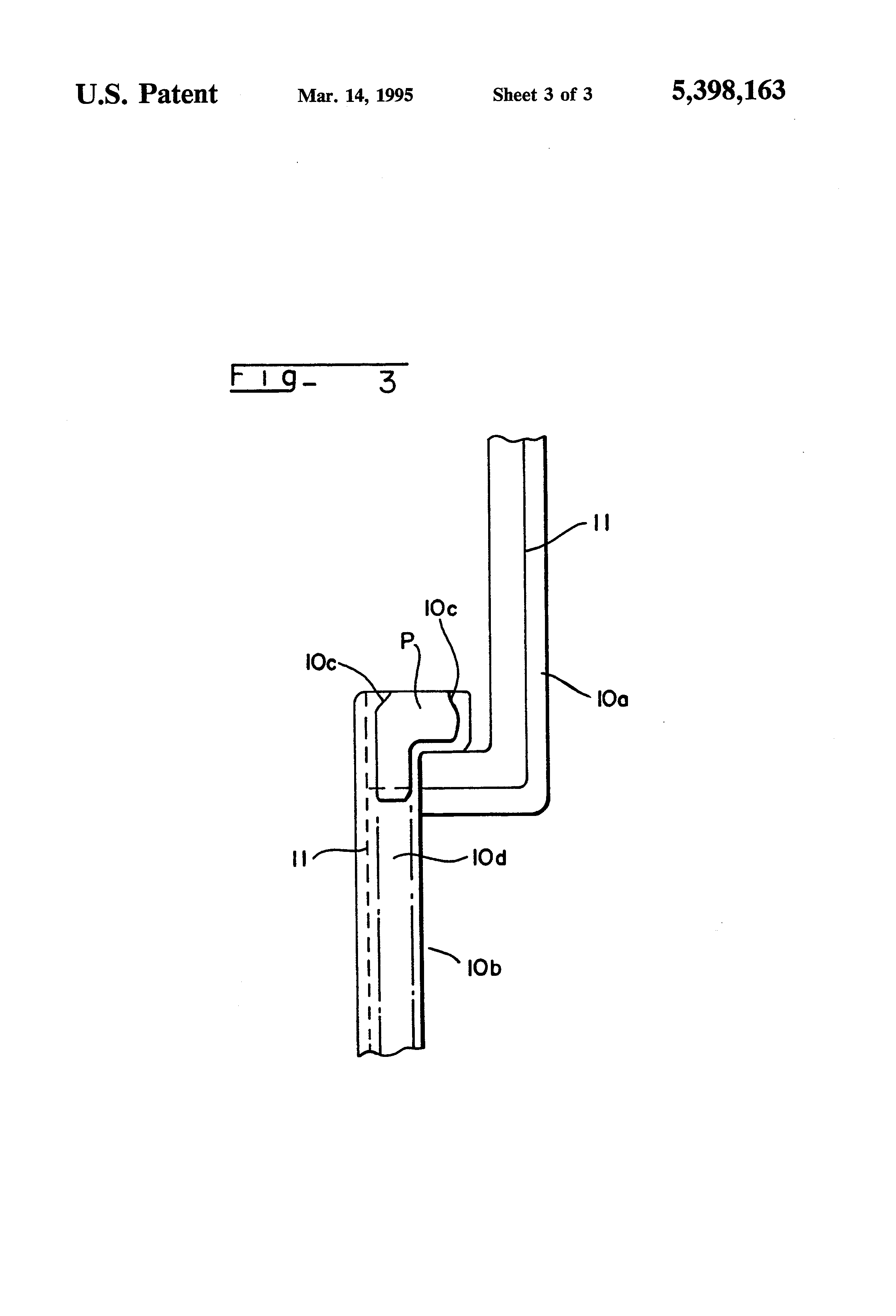 patent us5398163 - flexible printed circuit board