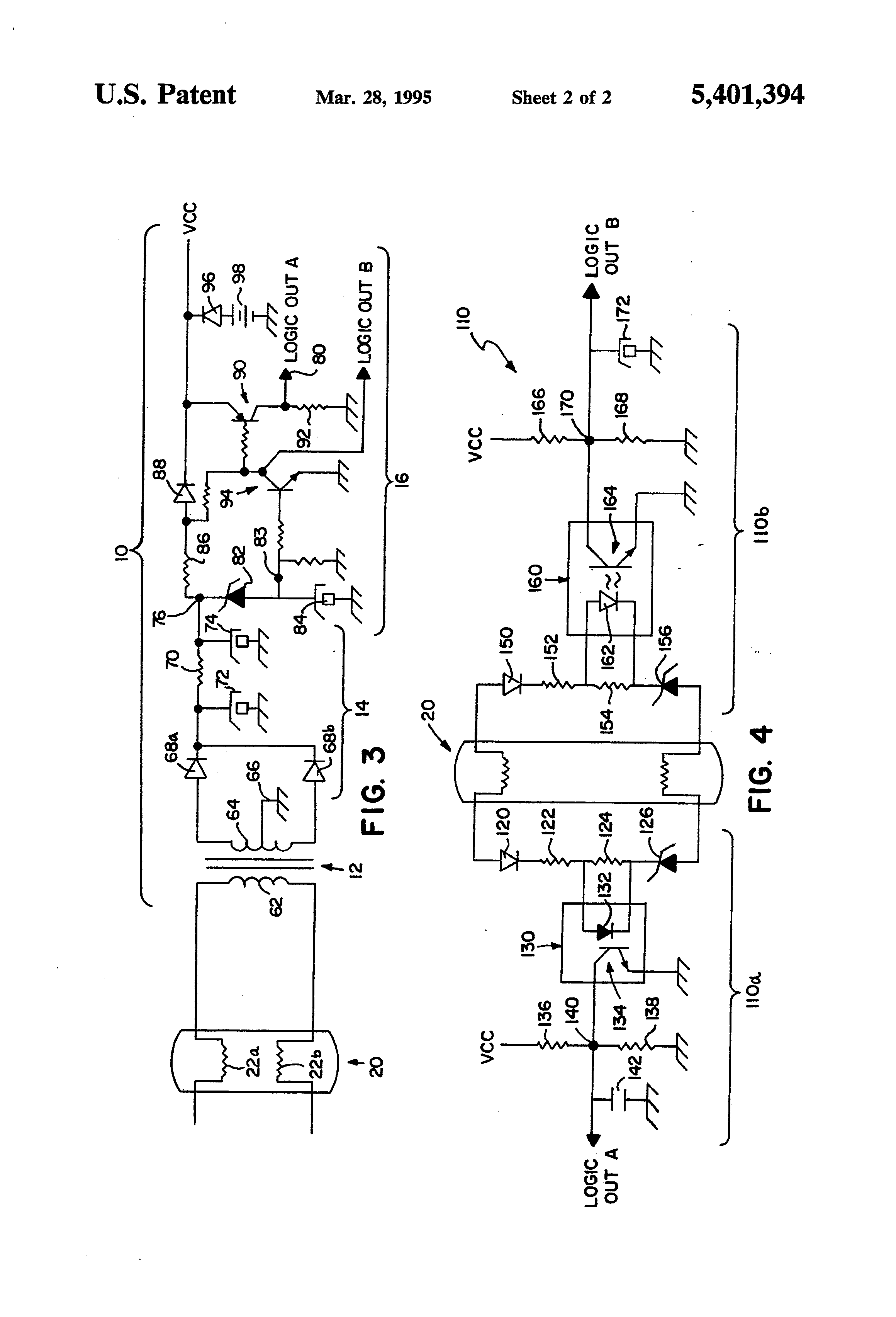 patent us5401394 - water treatment system ultraviolet bulb voltage monitor circuit