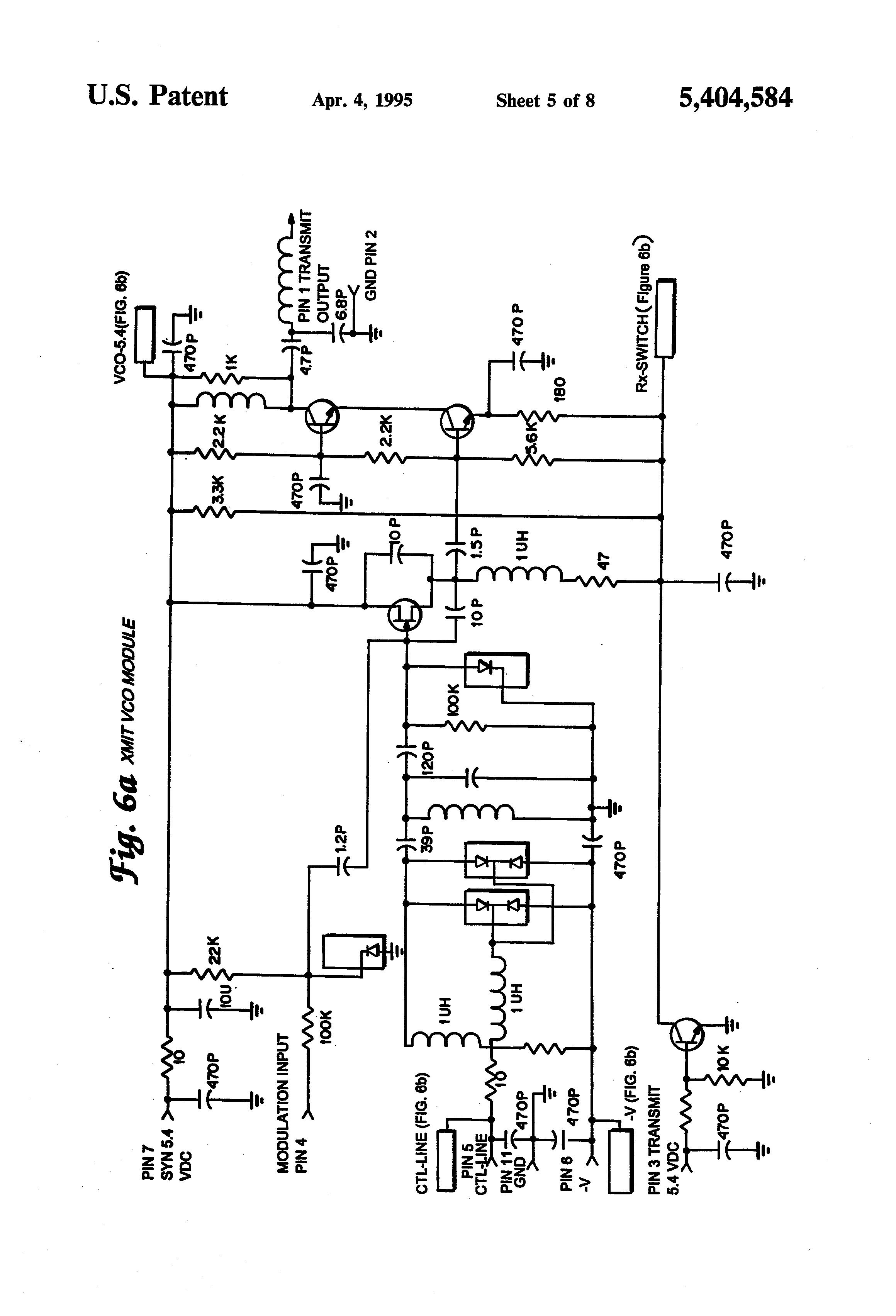 patent us5404584