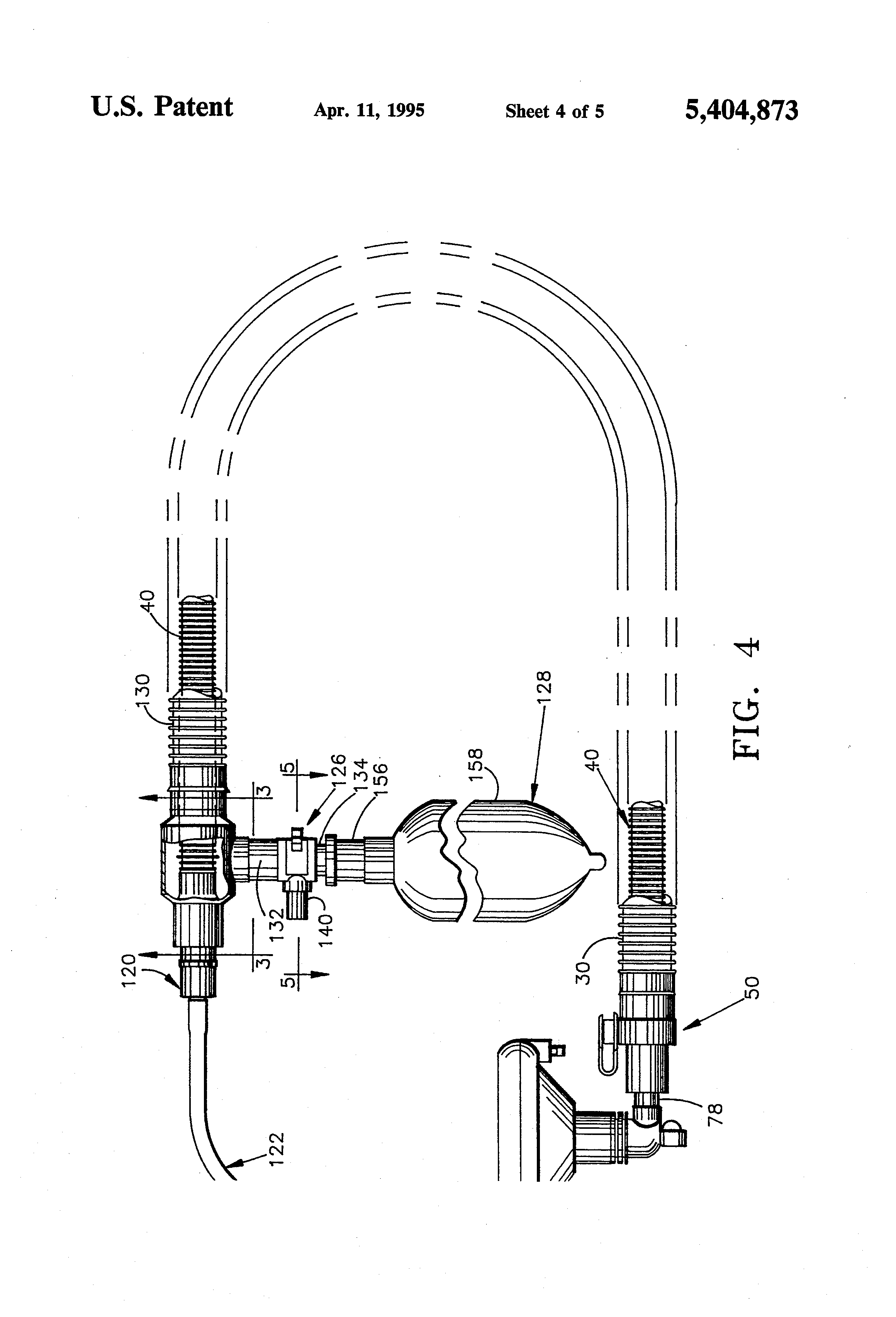 patent us5404873 - anesthesia circuit