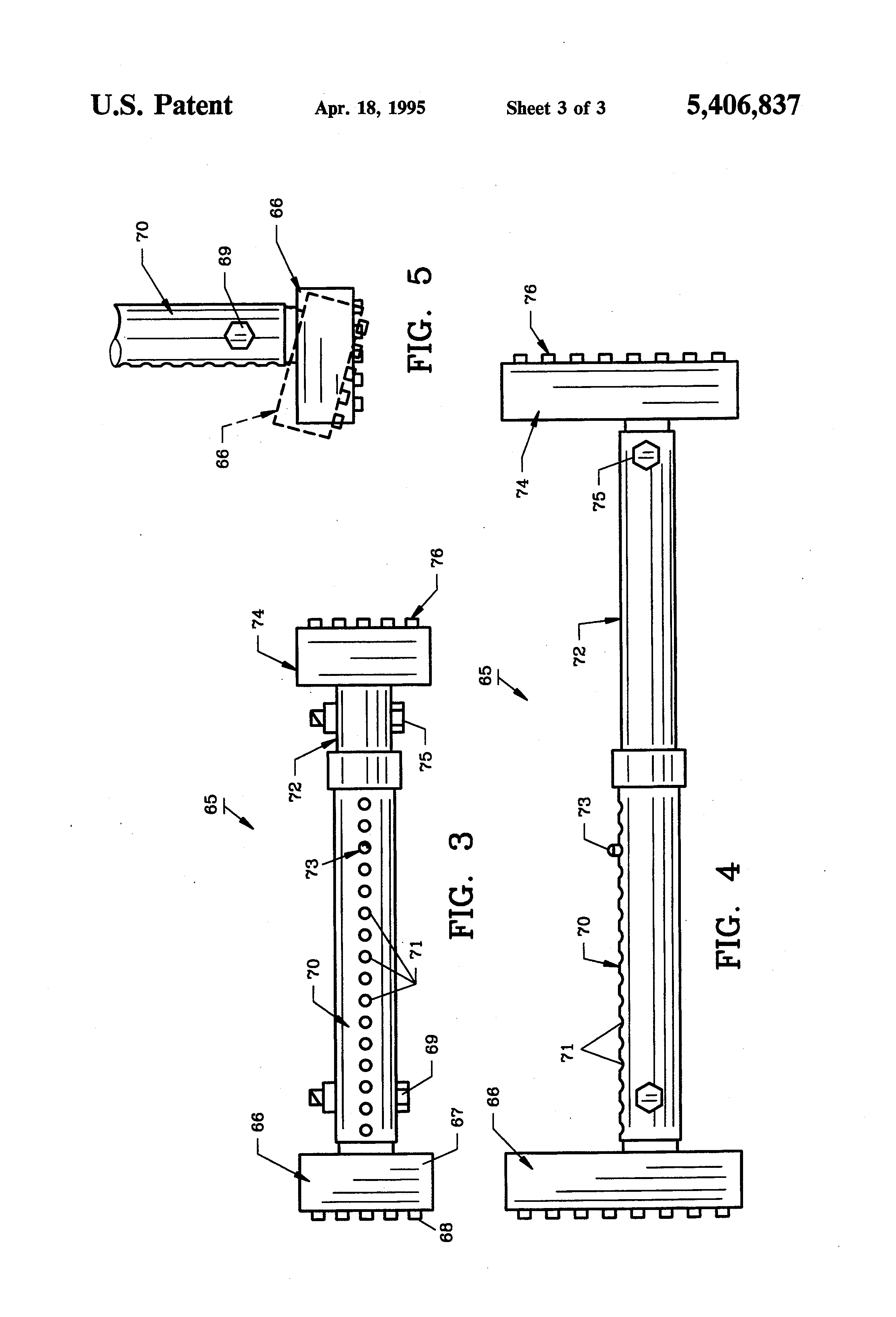 Brevet Us5406837 Vehicle Testing Device And Method Google Brevets 12 24 Volt Circuit Tester Test Light Probe Check Auto Circuits Trailer Patent Drawing